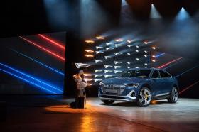 Ver foto 28 de Audi e-tron 55 quattro Sportback S line 2020