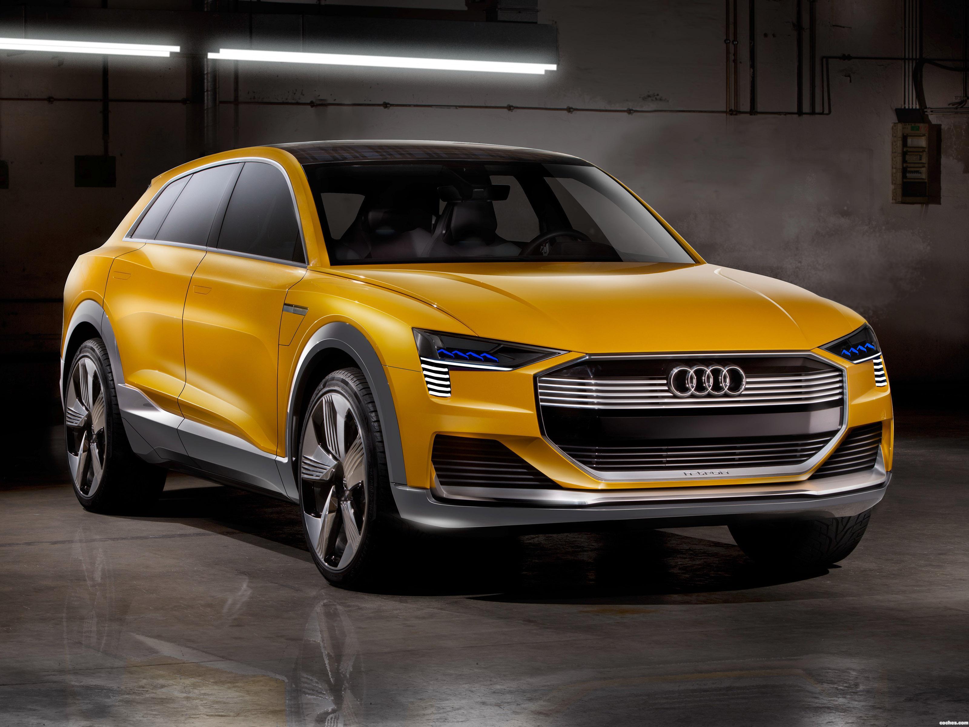Foto 0 de Audi h-Tron Quattro Concept 2016