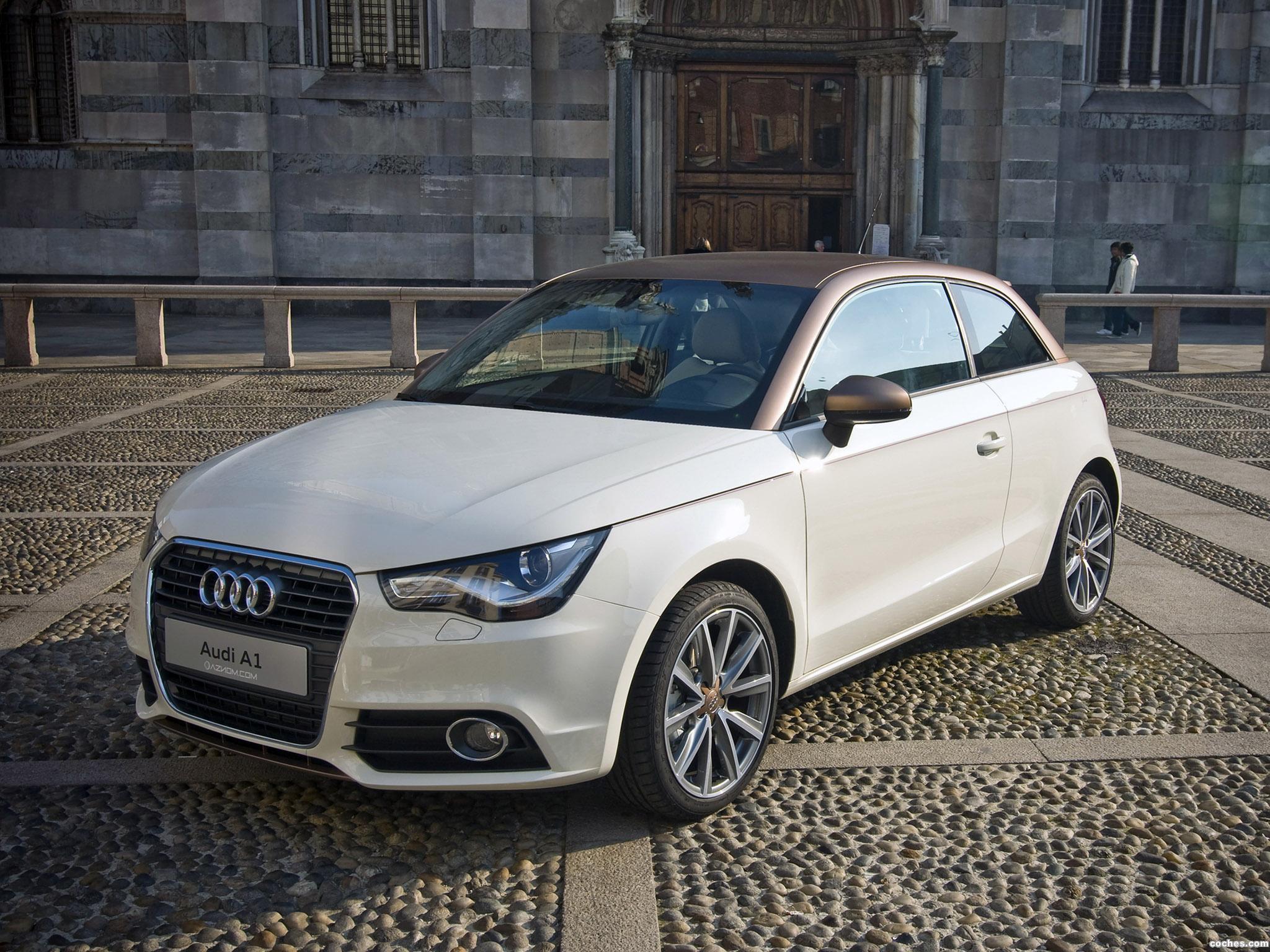 Foto 0 de Aznom Audi Audi A1 Goldie 2011