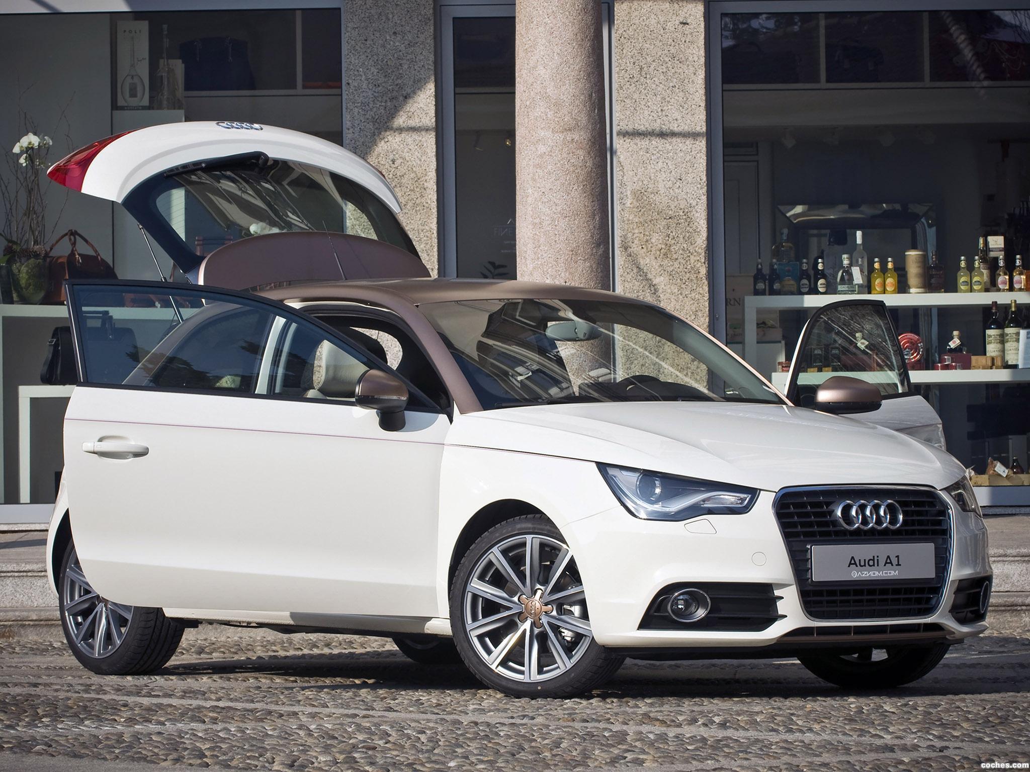 Foto 9 de Aznom Audi Audi A1 Goldie 2011