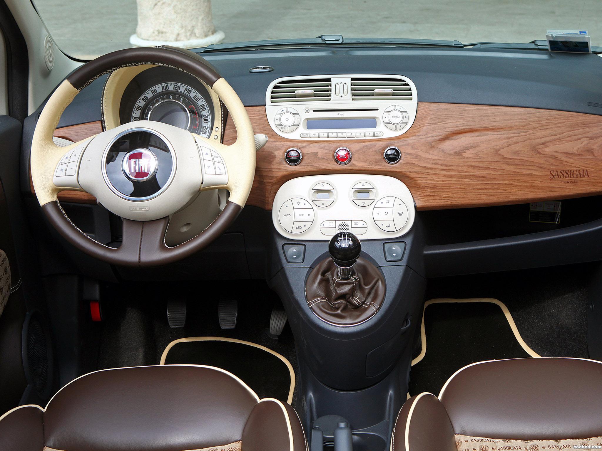 Foto 10 de Aznom Fiat 500C Sassicaica Limited Edition 2010