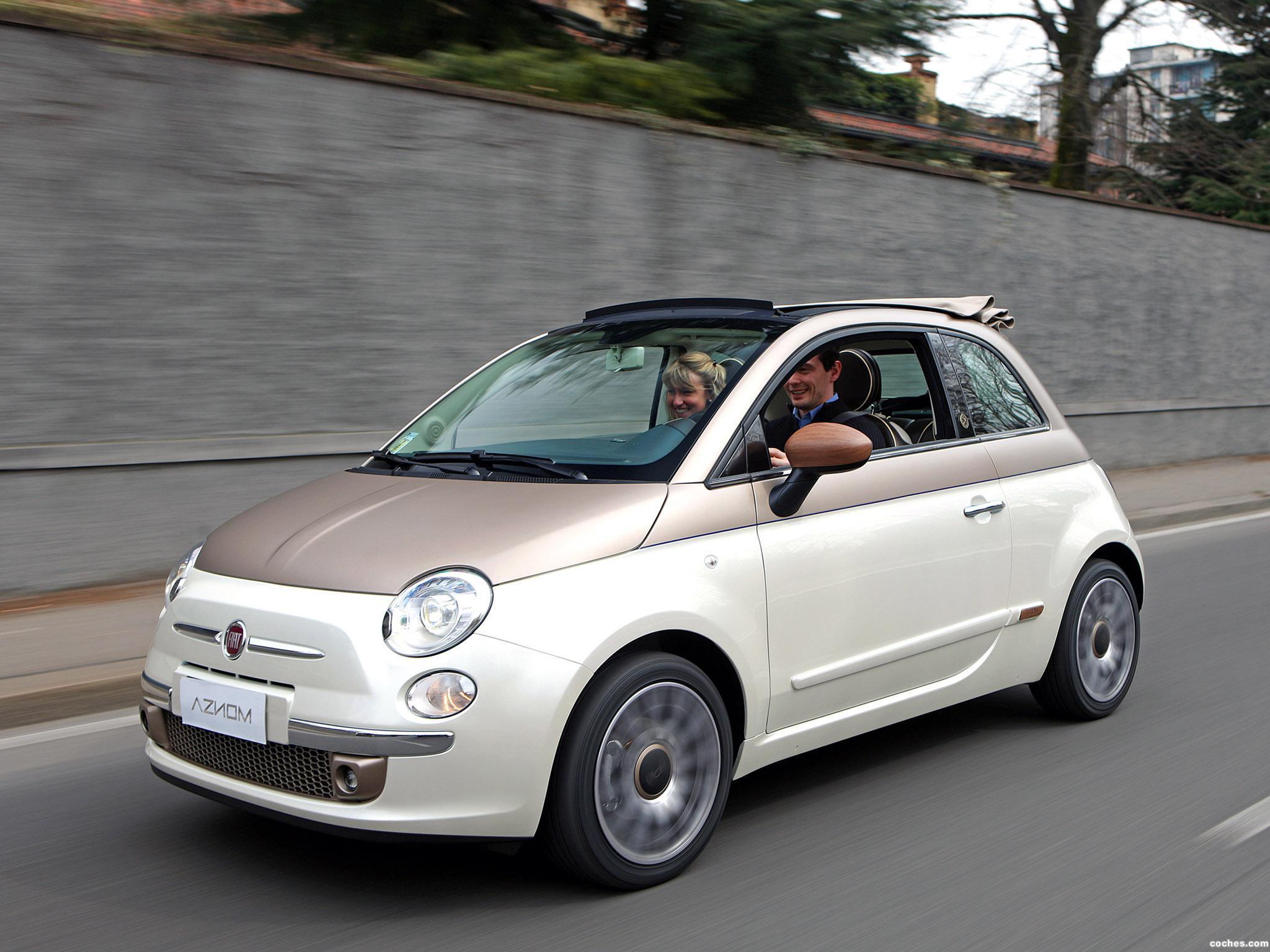 Foto 0 de Aznom Fiat 500C Sassicaica Limited Edition 2010