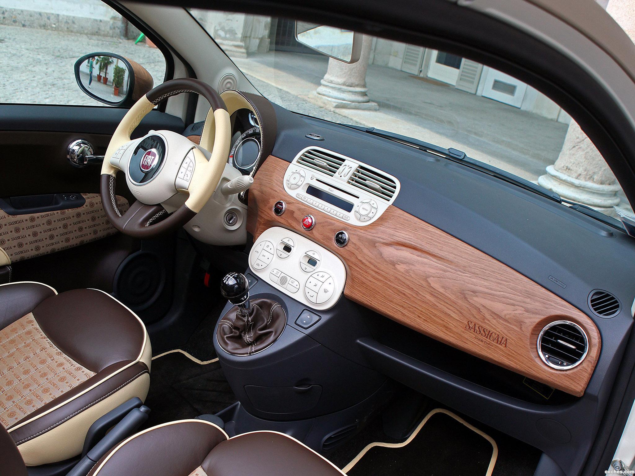 Foto 8 de Aznom Fiat 500C Sassicaica Limited Edition 2010