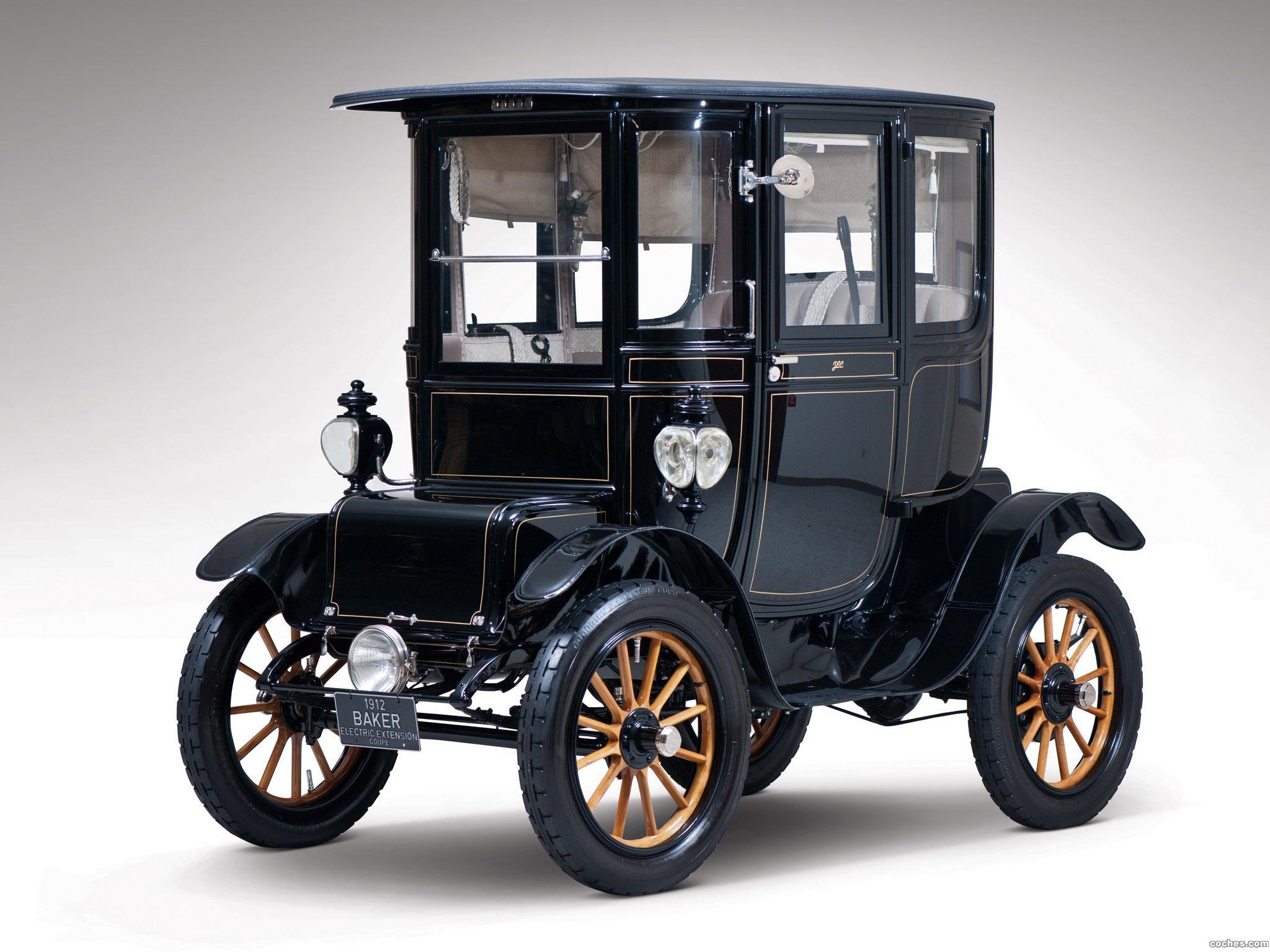 Foto 0 de Baker Model V Special Extension Coupe 1912
