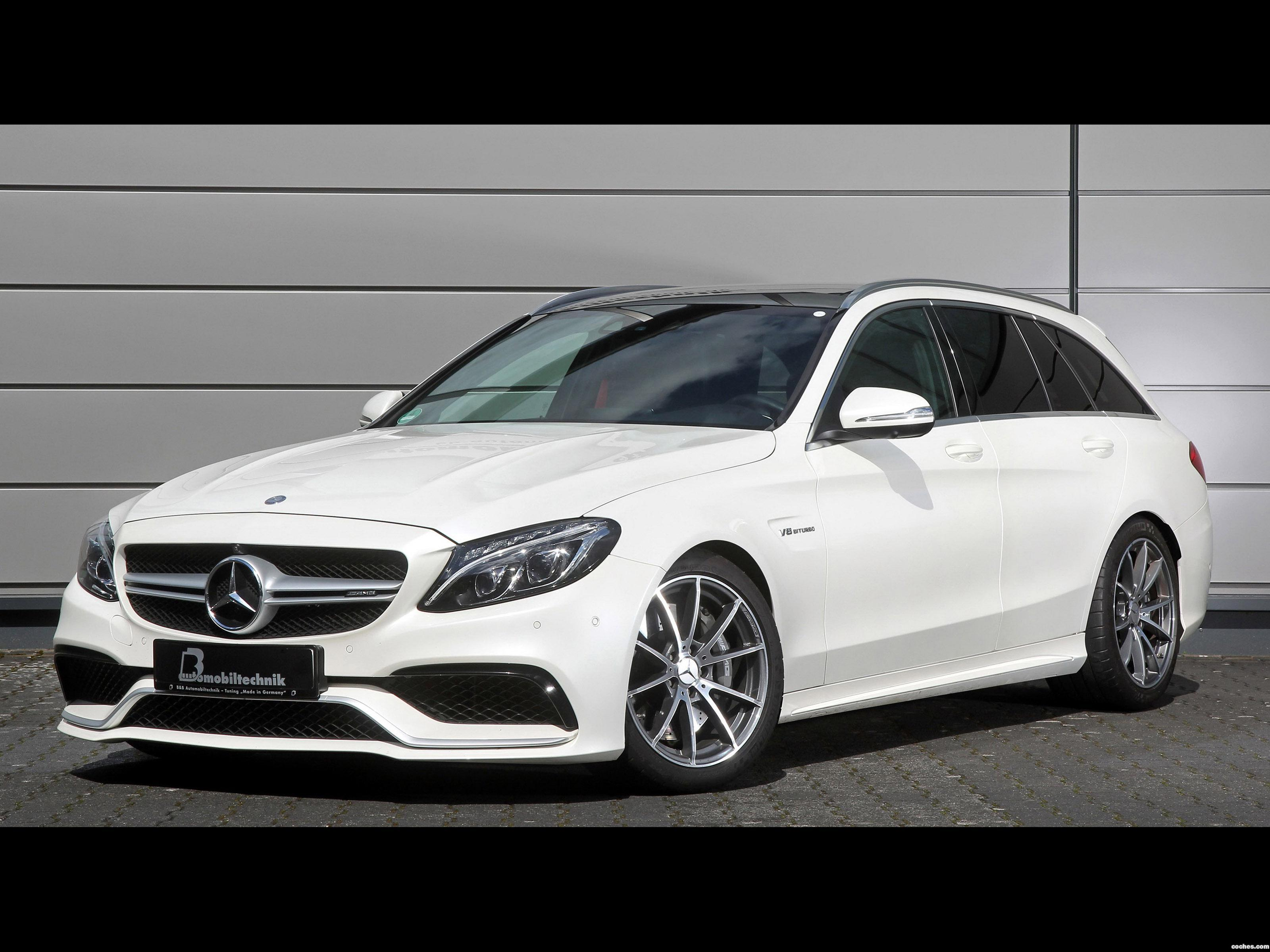 Foto 0 de BB Mercedes AMG C63 Estate S205 2016
