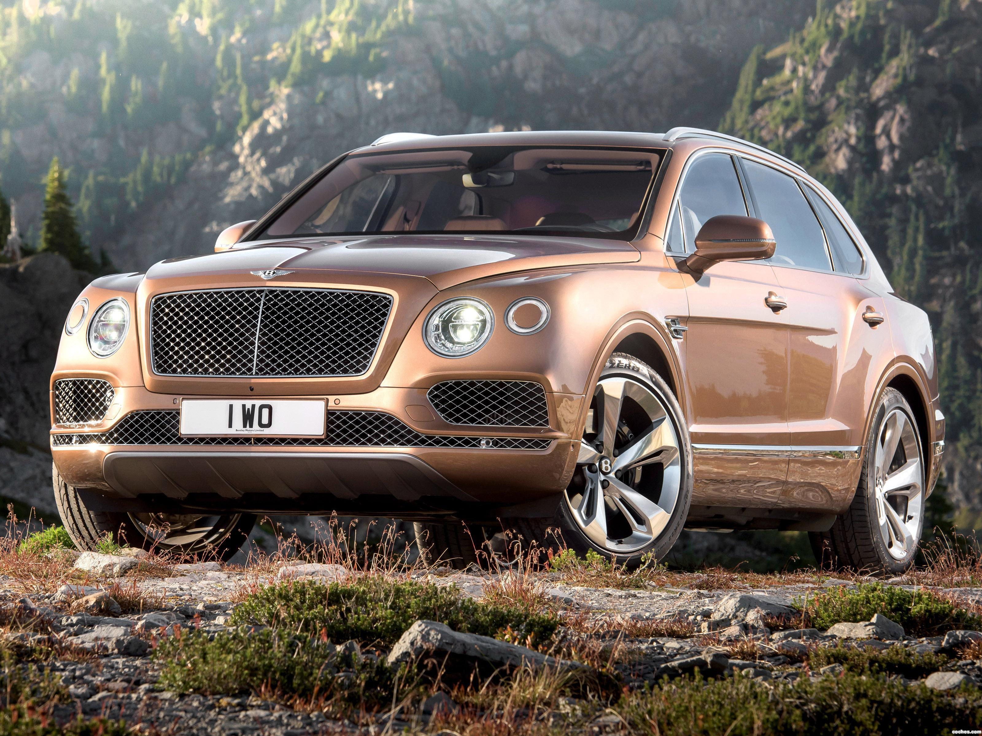 Foto 0 de Bentley Bentayga W12 2016