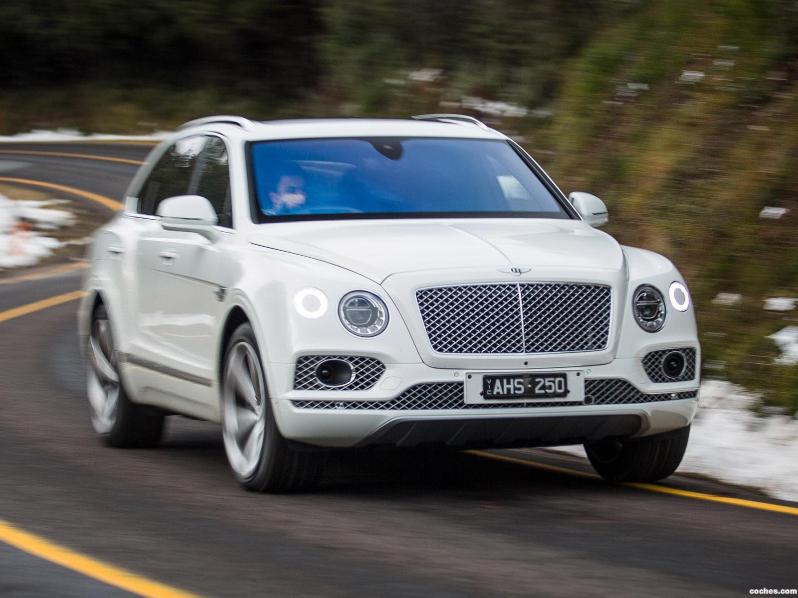 Foto 0 de Bentley Bentayga Australia 2016