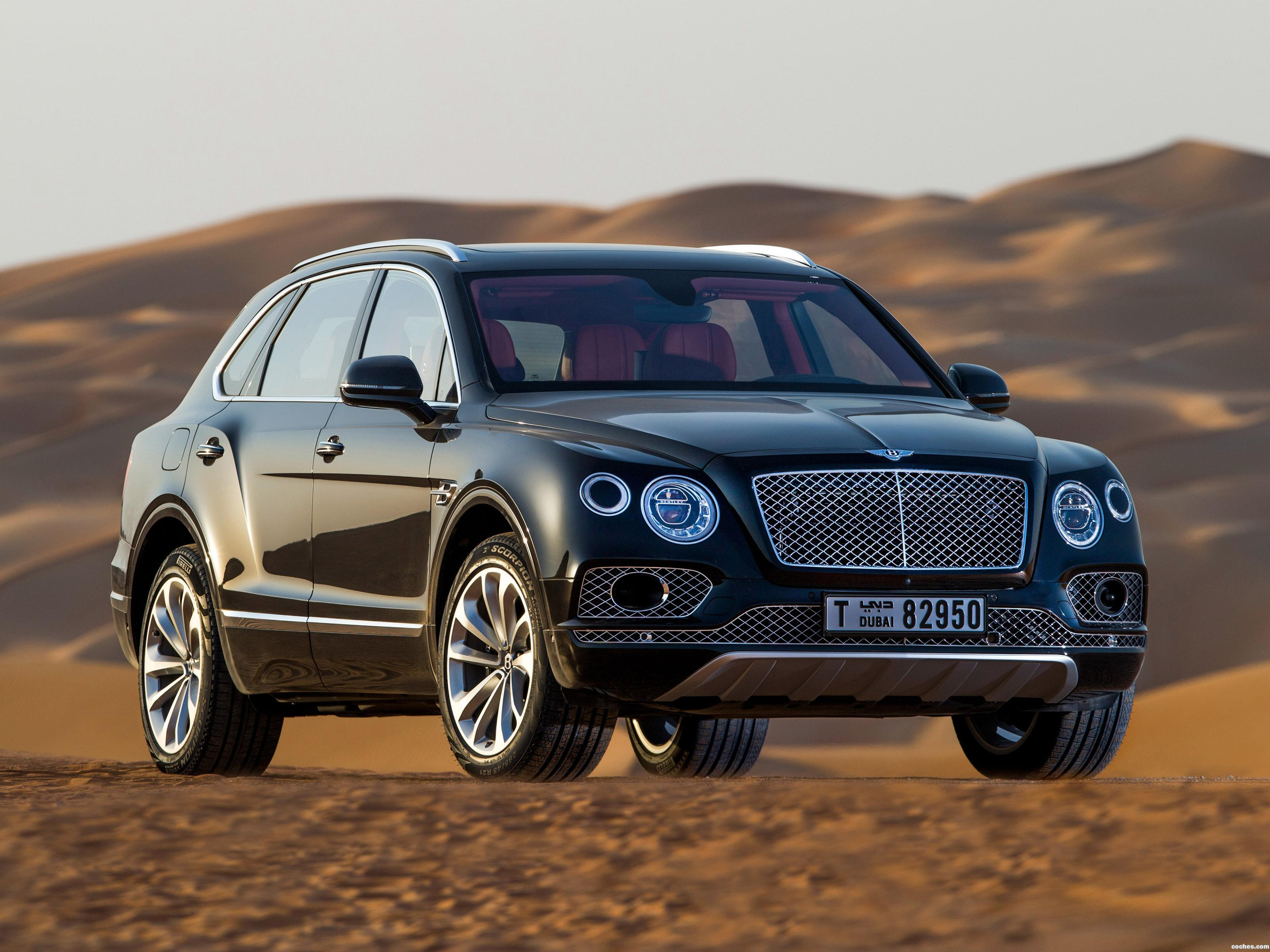 Foto 0 de Bentley Bentayga Falconry by Mulliner 2017