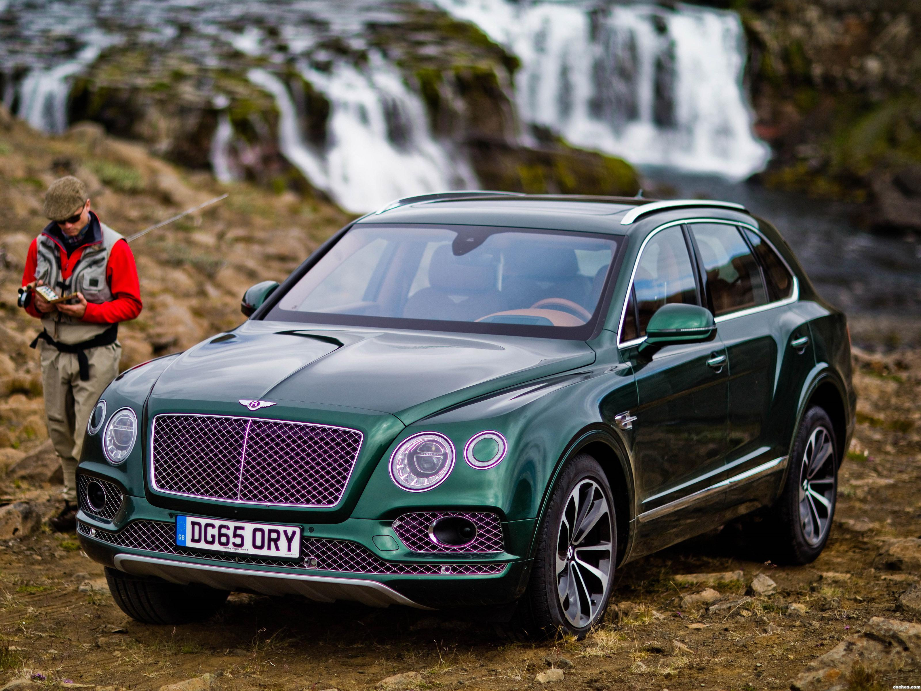 Foto 0 de Bentley Bentayga Fly Fishing by Mulliner 2016