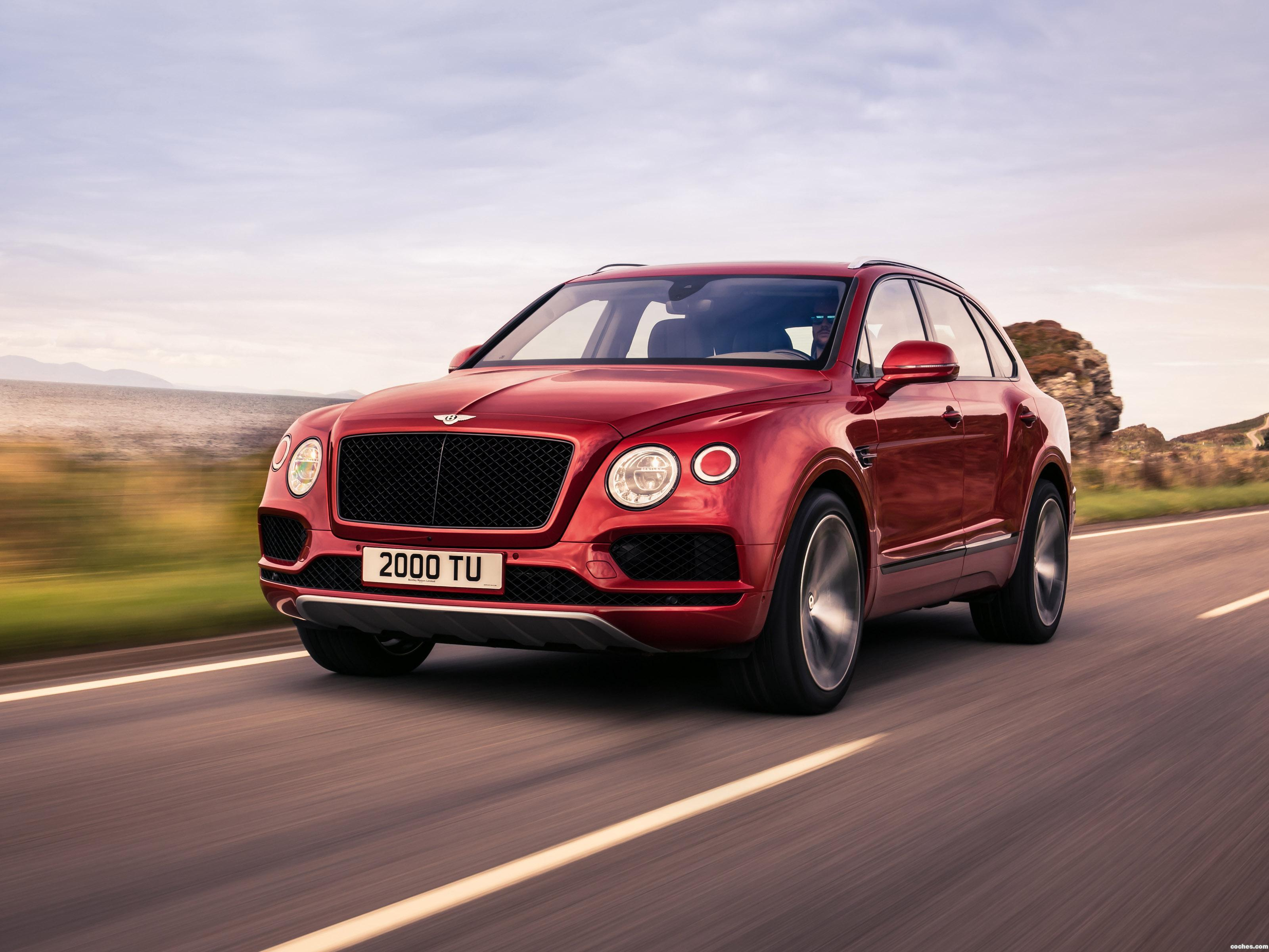 Foto 0 de Bentley Bentayga V8 2018