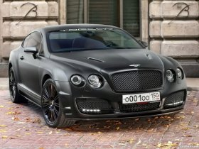 Fotos de Bentley Continental-GT Bullet by TopCar 2009