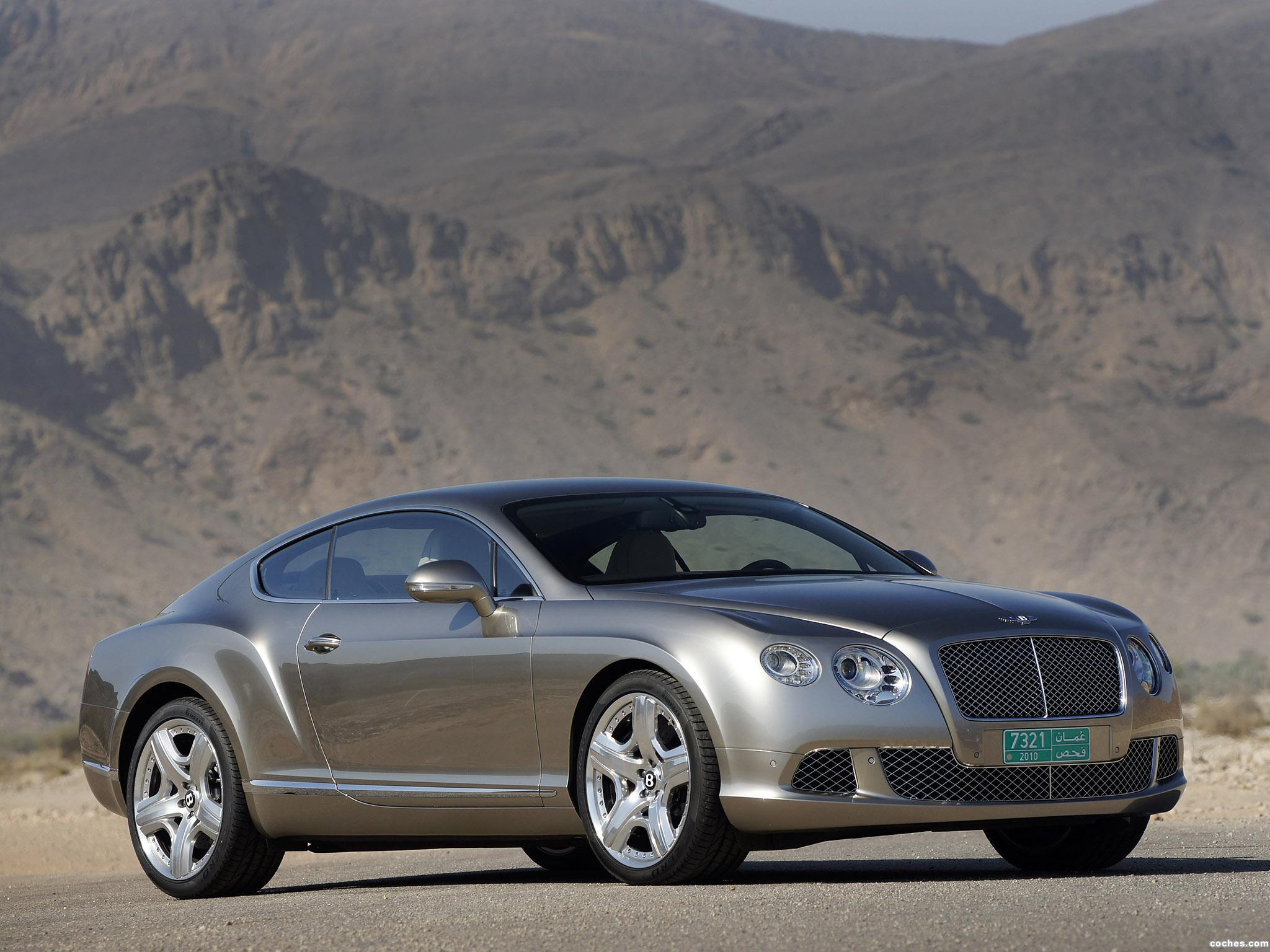 Foto 3 de Bentley Continental-GT Liquid Mercury 2010