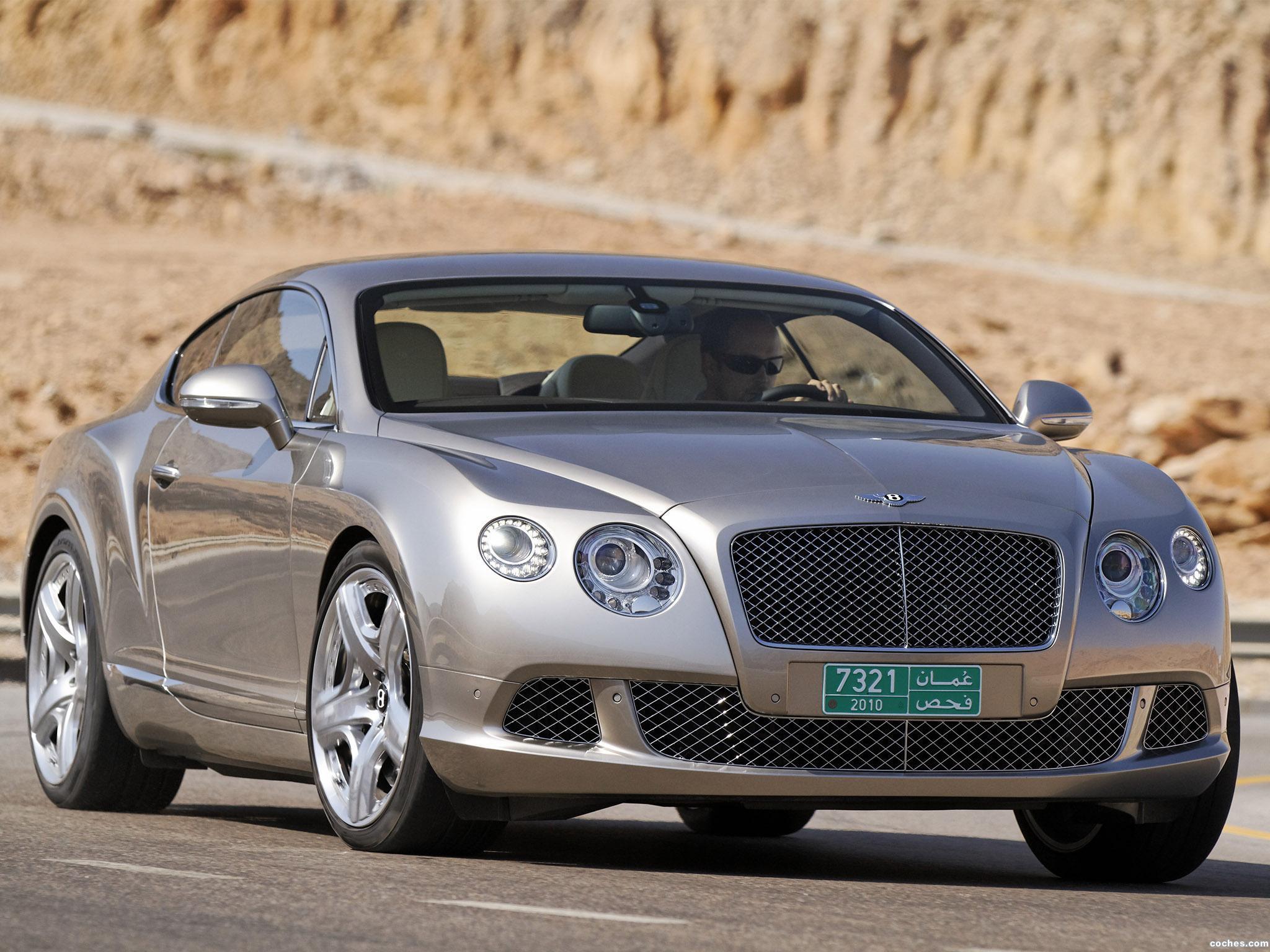 Foto 0 de Bentley Continental-GT Liquid Mercury 2010