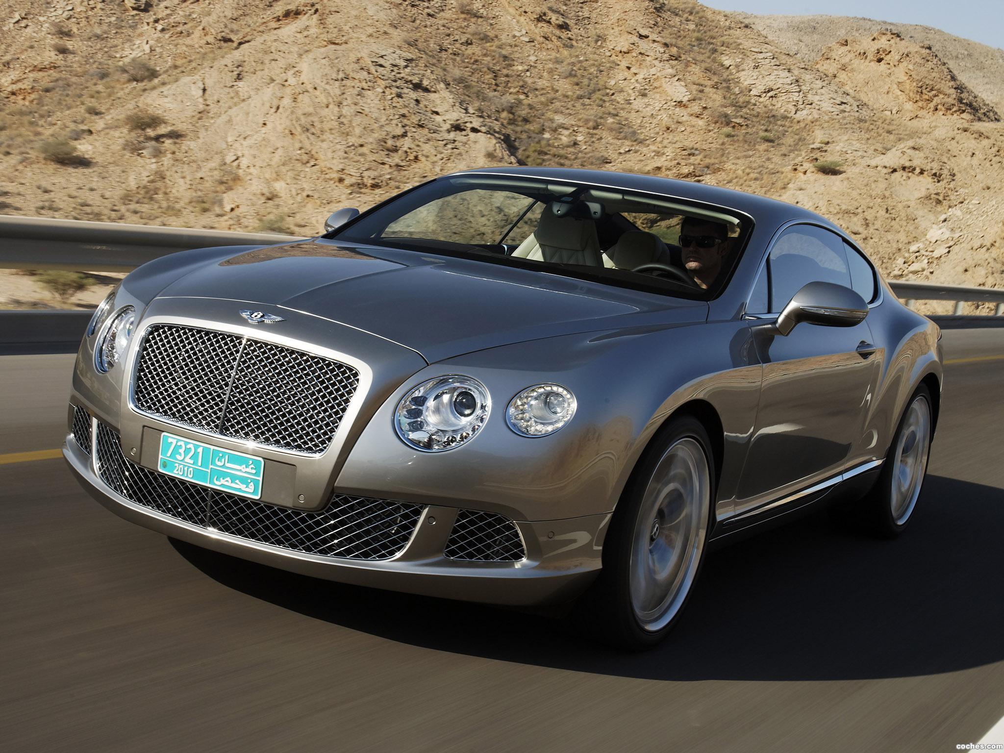 Foto 10 de Bentley Continental-GT Liquid Mercury 2010