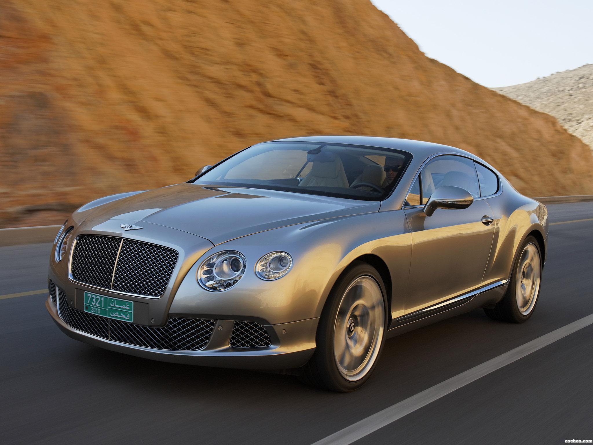 Foto 8 de Bentley Continental-GT Liquid Mercury 2010
