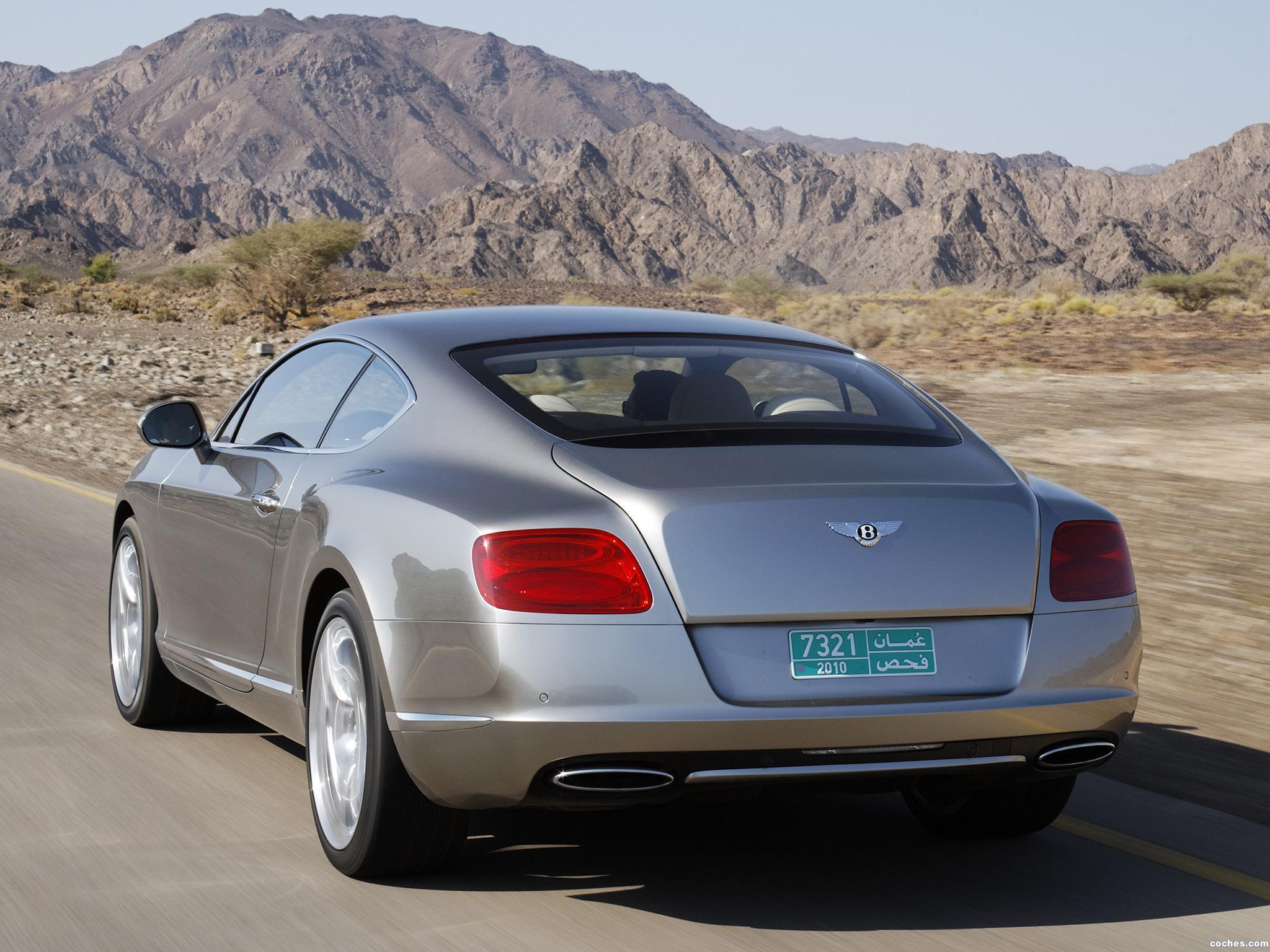 Foto 6 de Bentley Continental-GT Liquid Mercury 2010