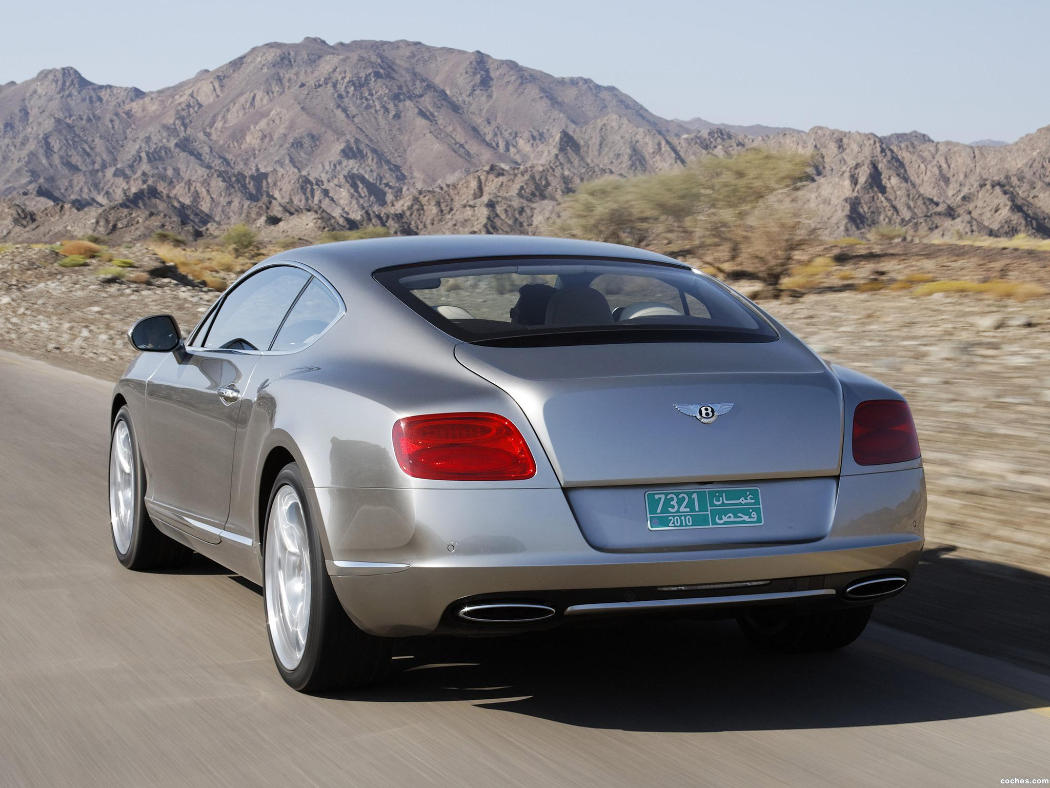 Foto 5 de Bentley Continental-GT Liquid Mercury 2010