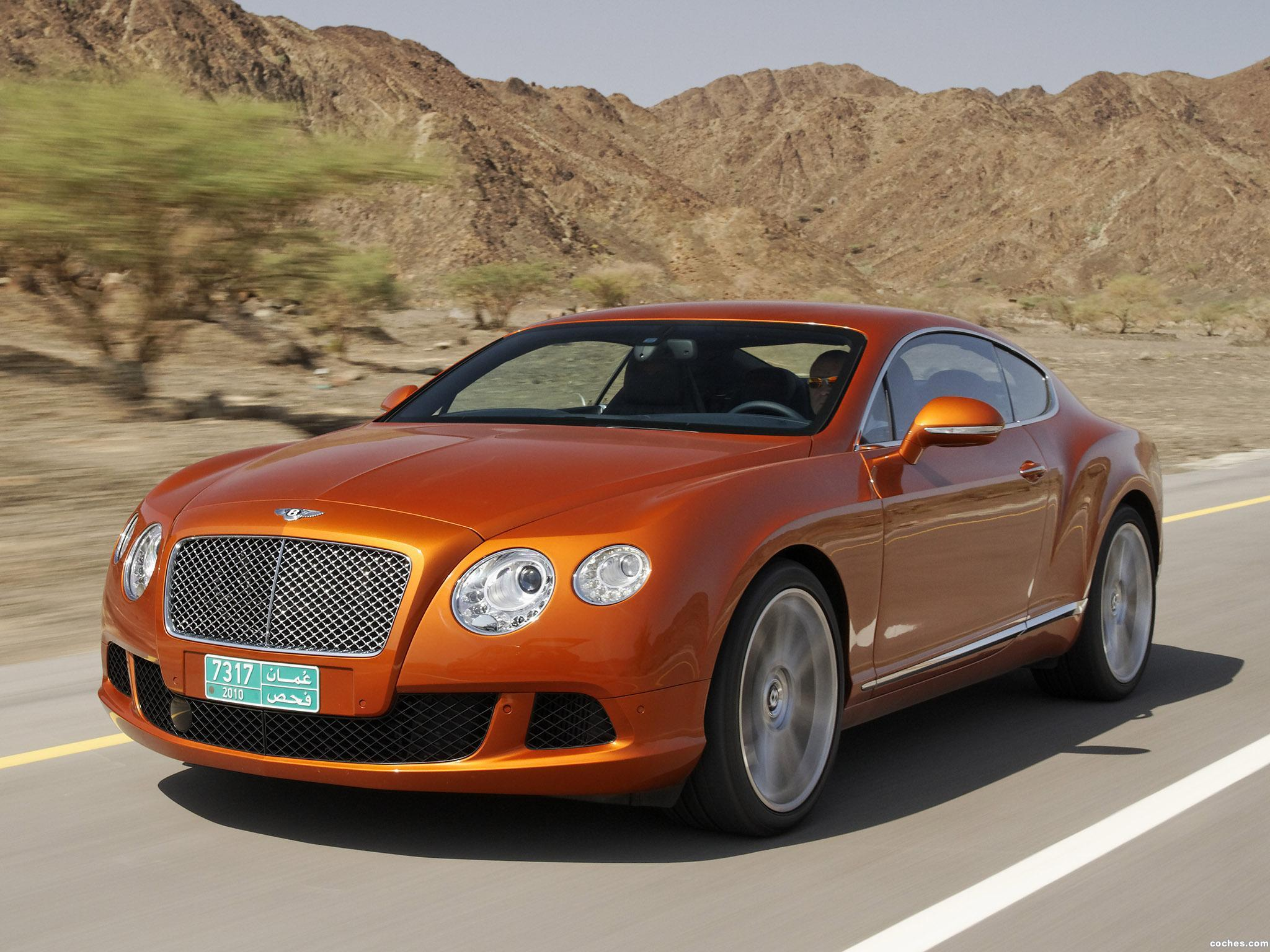 Foto 0 de Bentley Continental-GT Orange Flame 2010