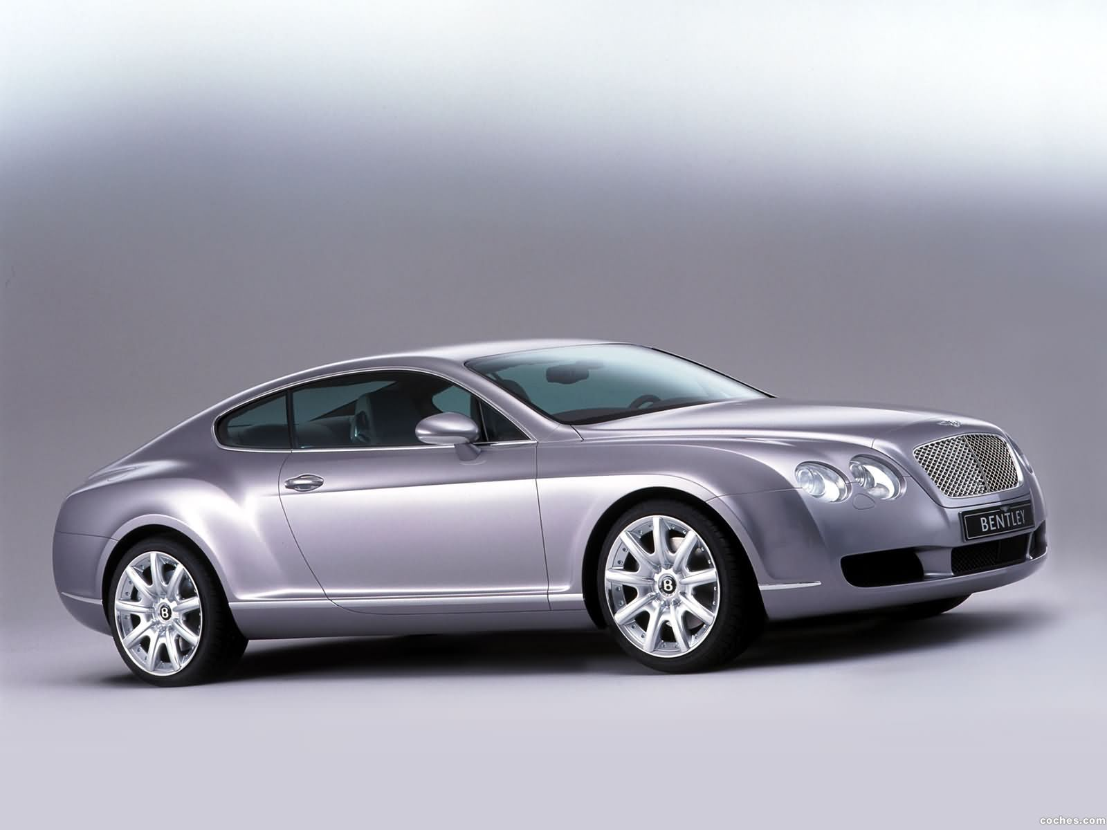Foto 0 de Bentley Continental-GT Prototype 2002