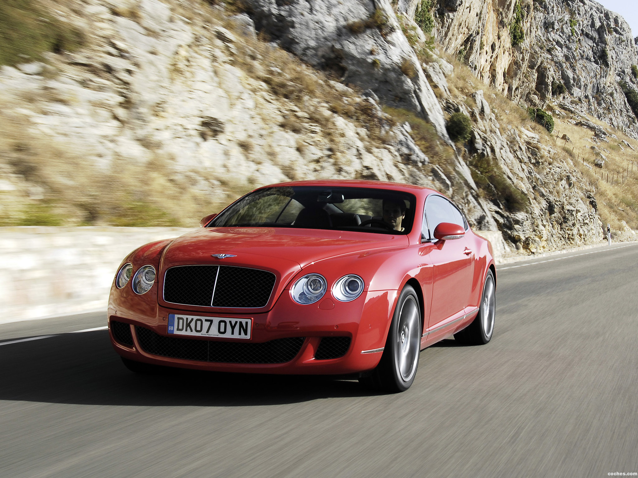 Foto 13 de Bentley Continental-GT Speed 2007