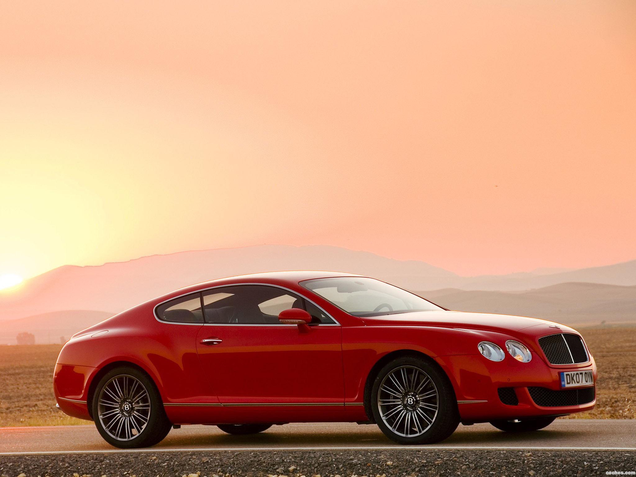 Foto 6 de Bentley Continental-GT Speed 2007