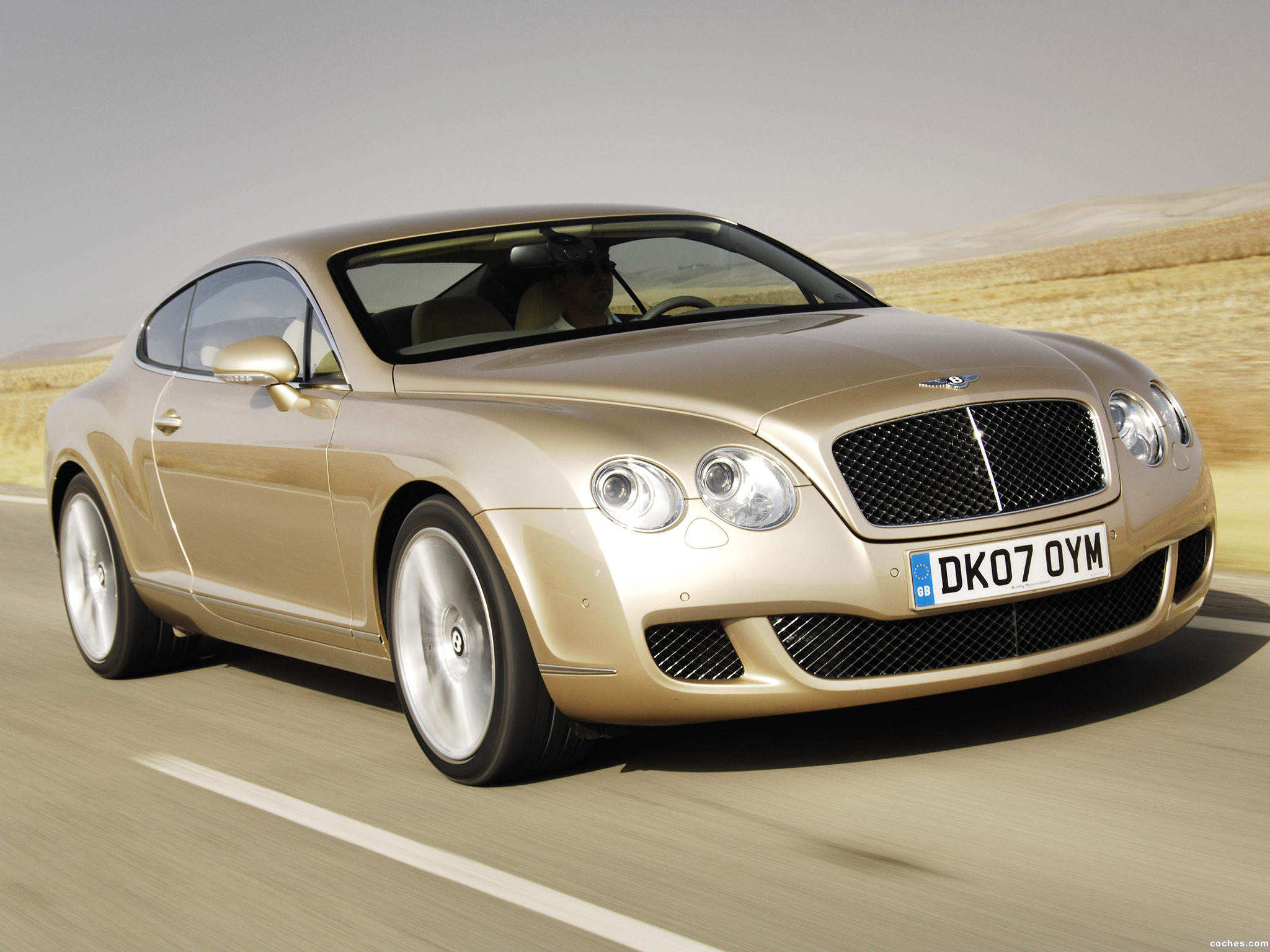 Foto 5 de Bentley Continental-GT Speed 2007