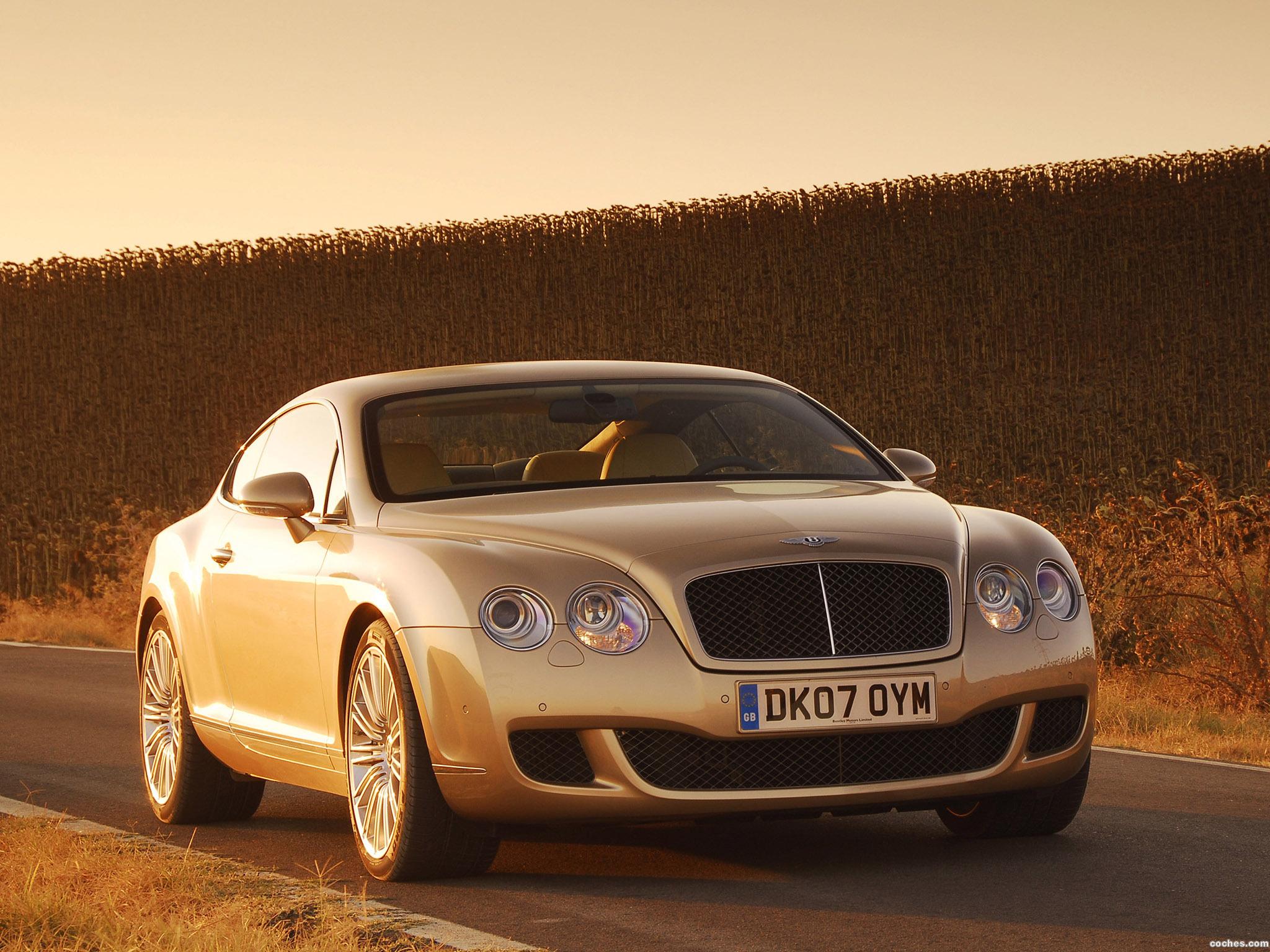 Foto 2 de Bentley Continental-GT Speed 2007