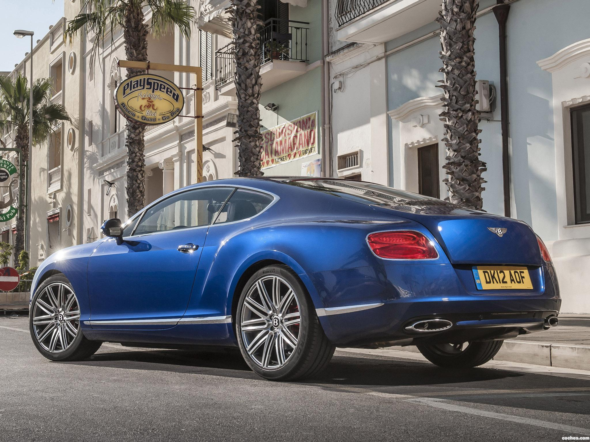 Foto 12 de Bentley Continental GT Speed 2012