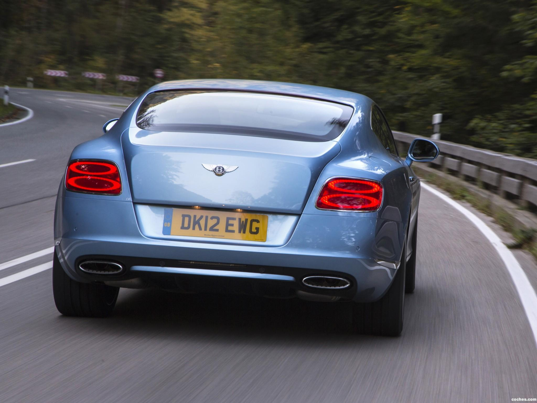 Foto 22 de Bentley Continental GT Speed 2012