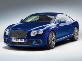 Fotos de Bentley Continental GT Speed 2012
