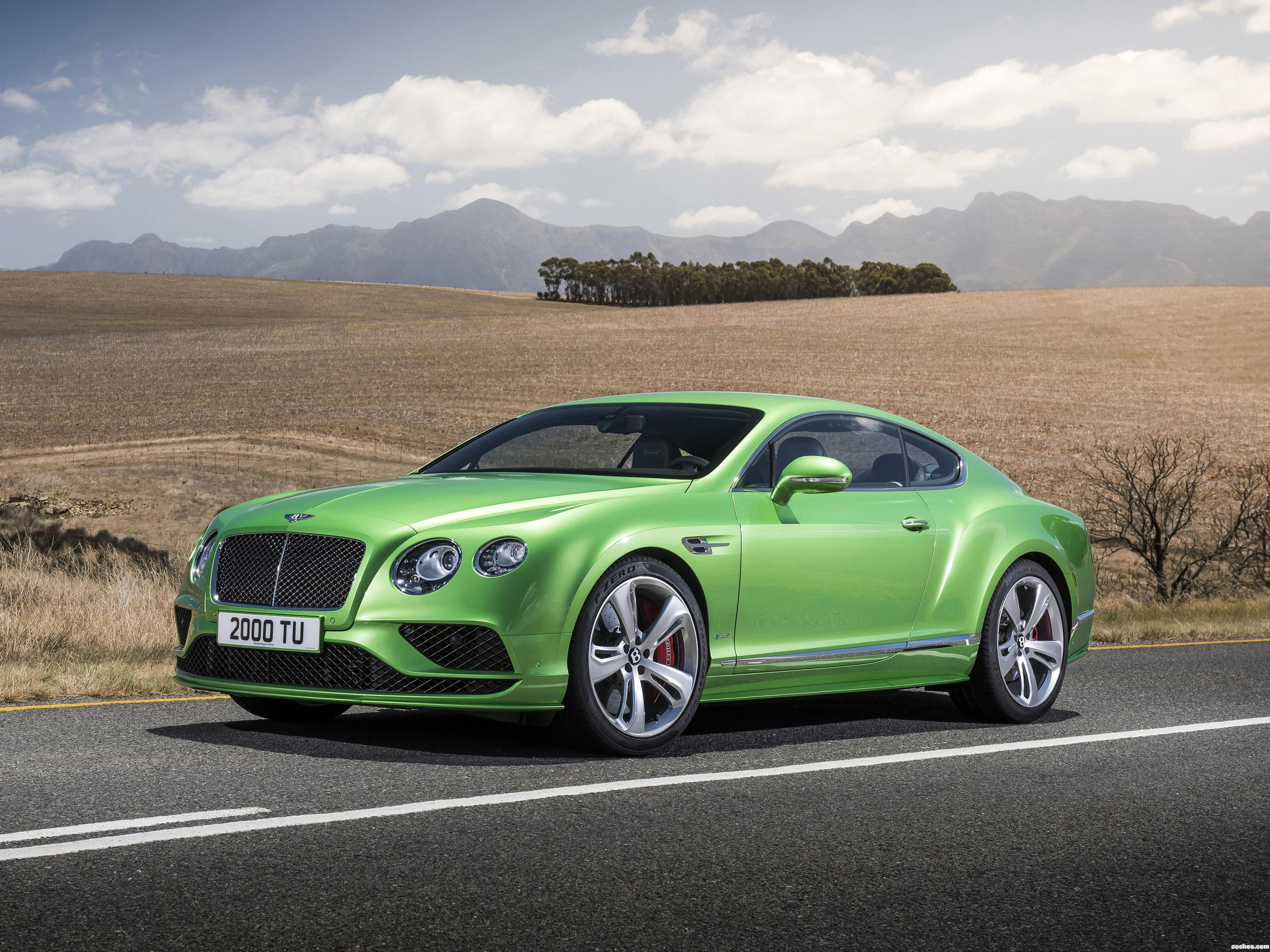 Foto 0 de Bentley Continental GT Speed 2015