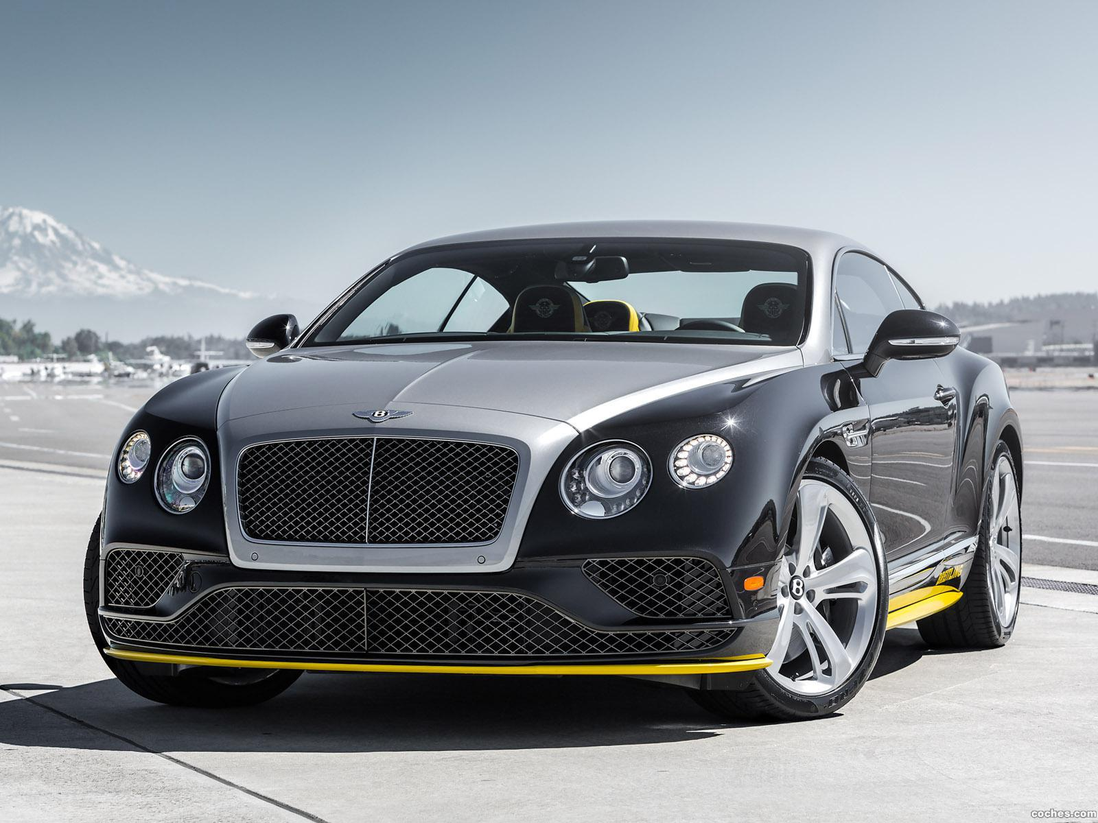 Foto 1 de Bentley Continental GT Speed Breitling Jet Team Series 2015