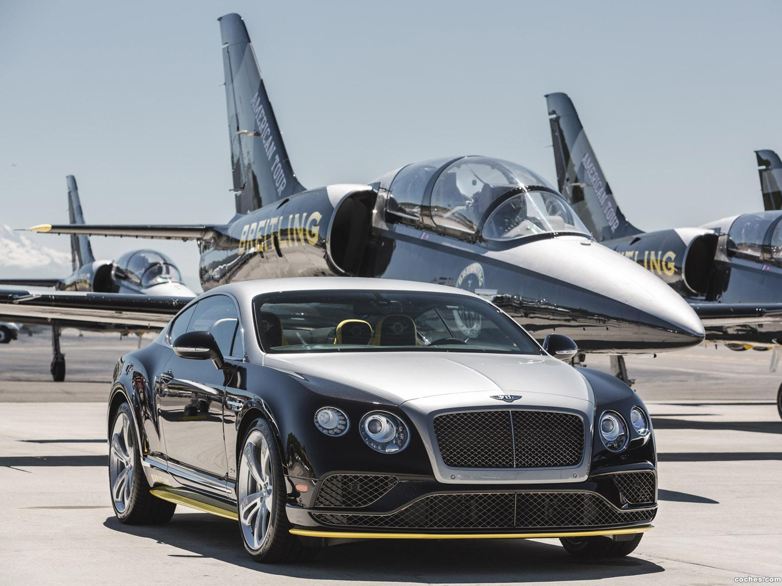 Foto 0 de Bentley Continental GT Speed Breitling Jet Team Series 2015
