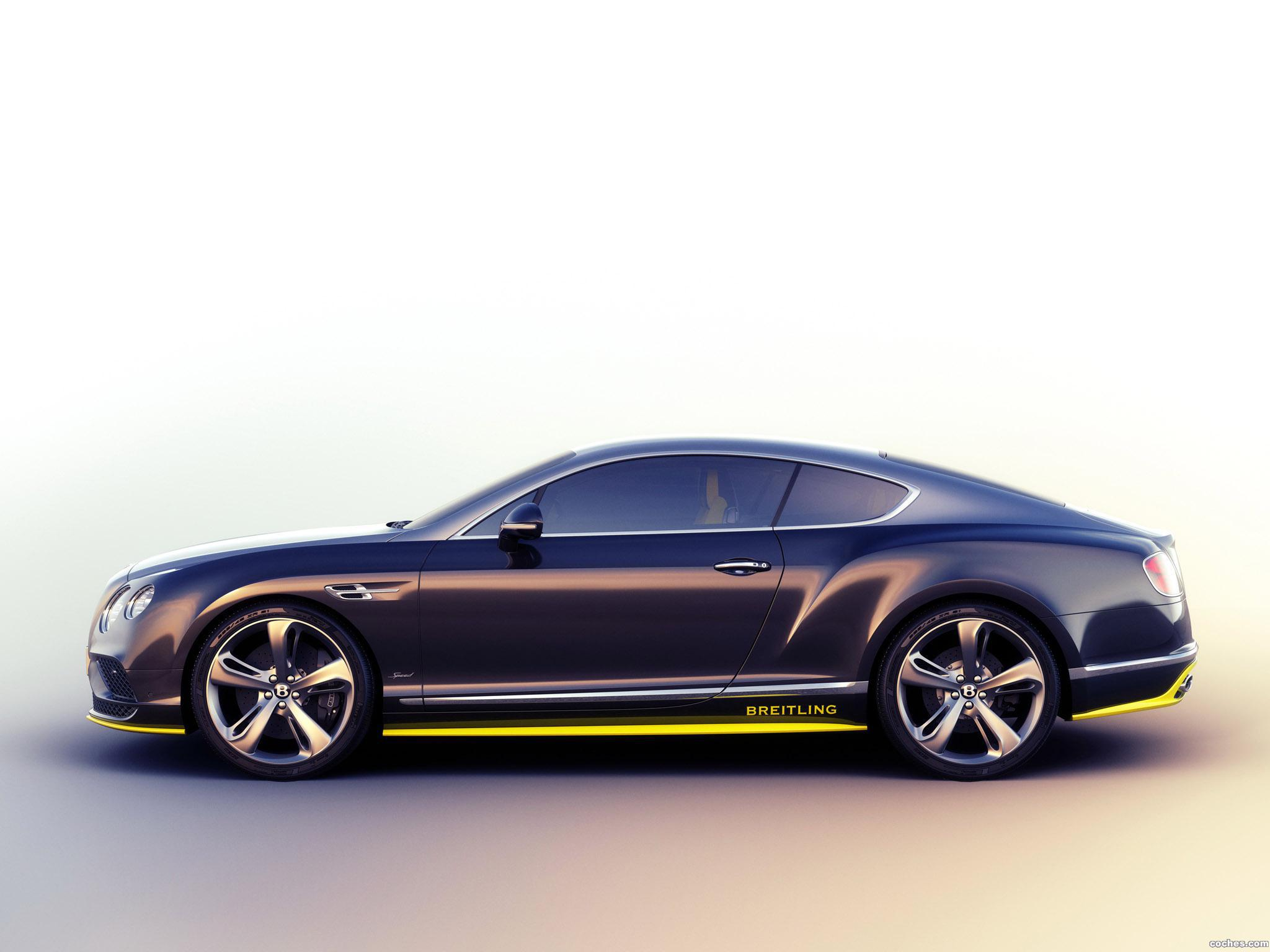 Foto 12 de Bentley Continental GT Speed Breitling Jet Team Series 2015