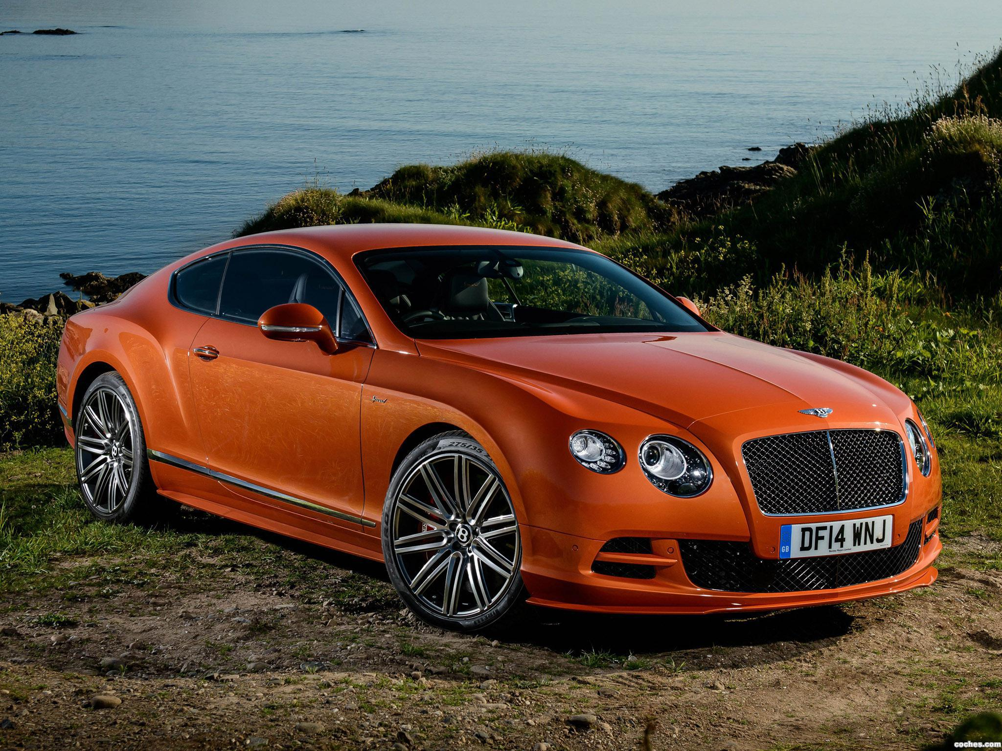 Foto 0 de Bentley Continental GT Speed UK 2014