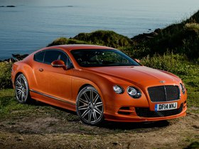 Fotos de Bentley Continental GT Speed UK 2014