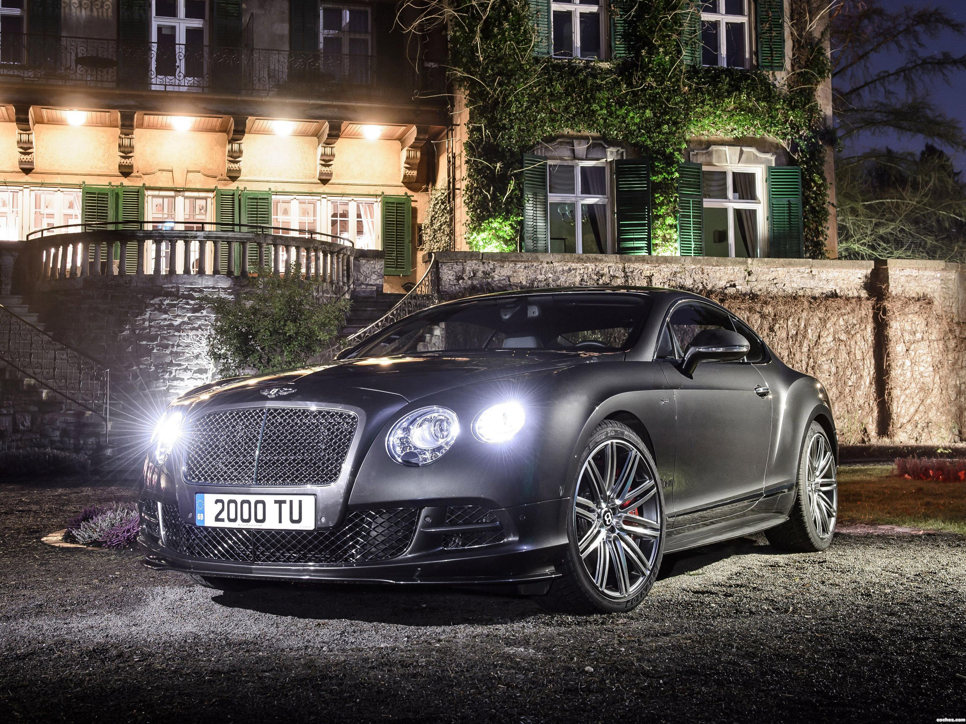 Foto 0 de Bentley Continental GT Speed 2014