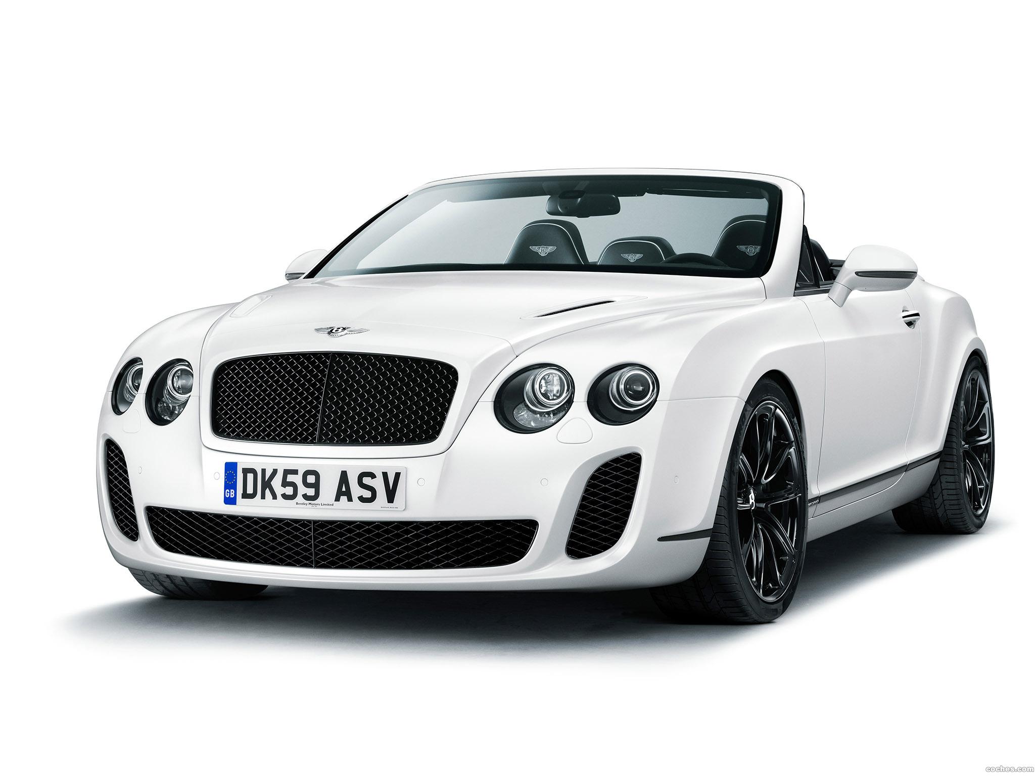 Foto 0 de Bentley Continental-GT Supersport Convertible 2010