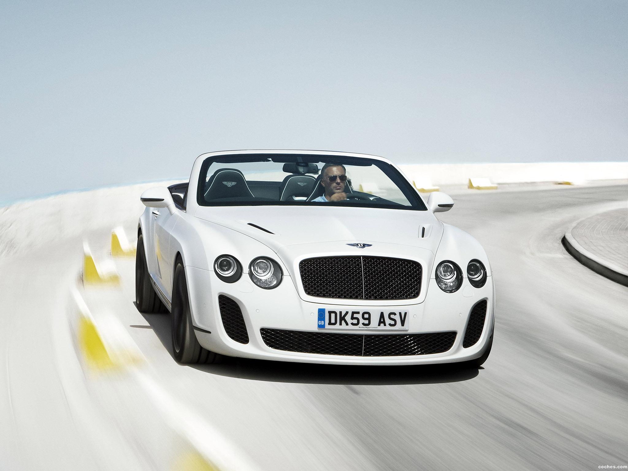 Foto 17 de Bentley Continental-GT Supersport Convertible 2010