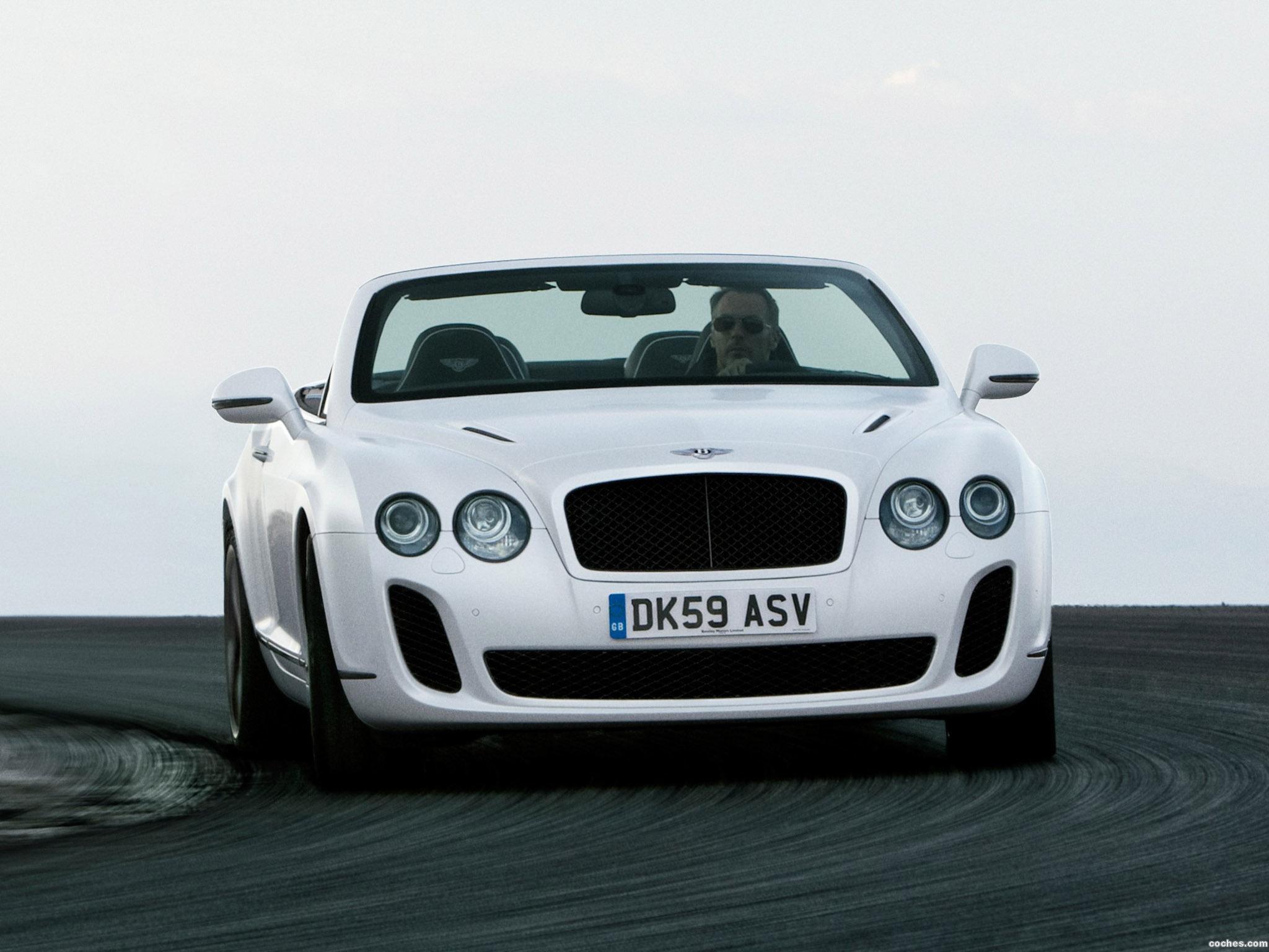Foto 3 de Bentley Continental-GT Supersport Convertible 2010