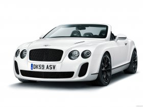 Fotos de Bentley Continental-GT Supersport Convertible 2010
