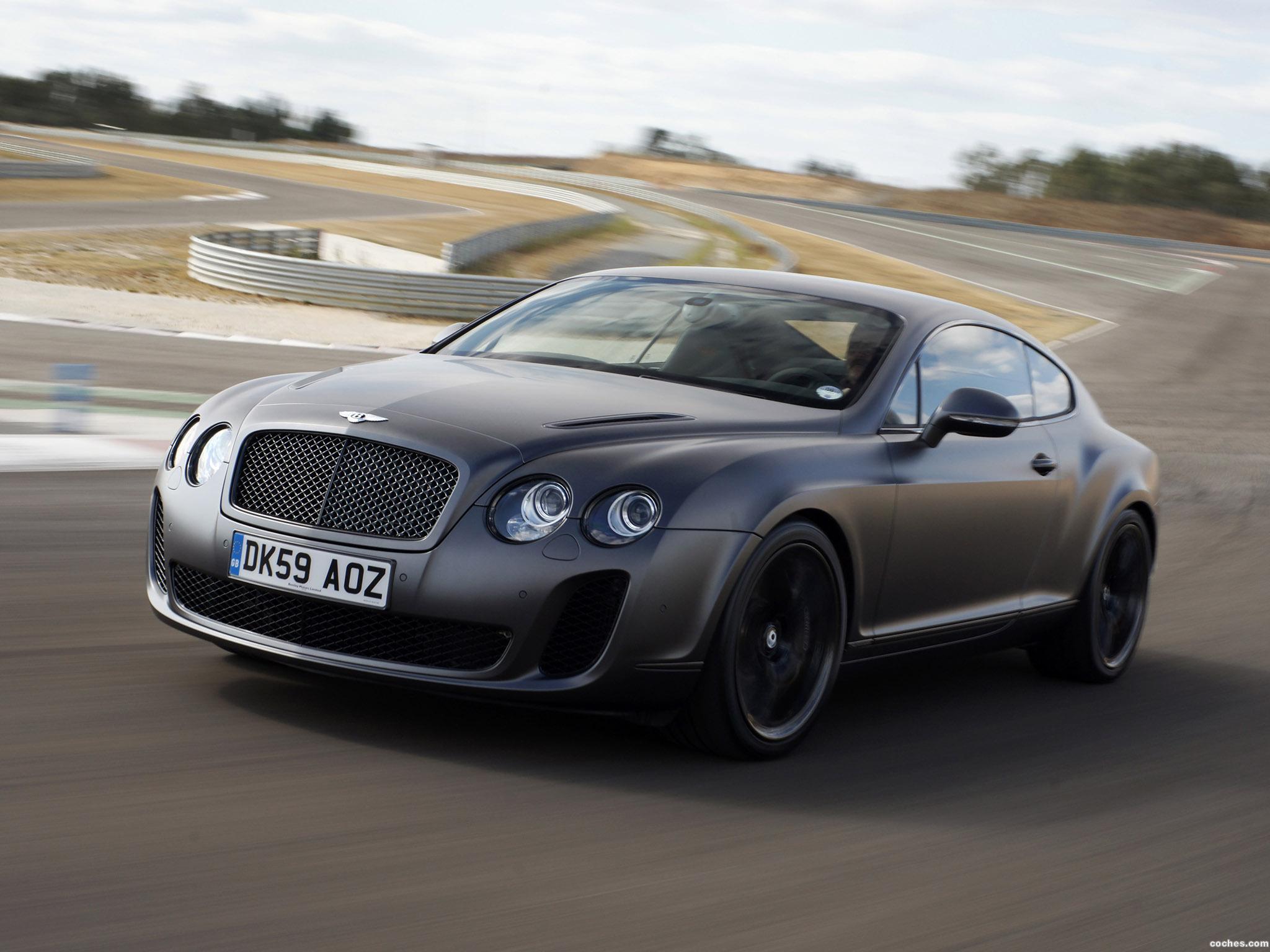 Foto 12 de Bentley Continental-GT Supersports 2009