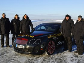 Ver foto 7 de Bentley Continental-GT Supersports Convertible Ice Record Car 2011