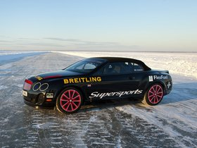 Ver foto 2 de Bentley Continental-GT Supersports Convertible Ice Record Car 2011