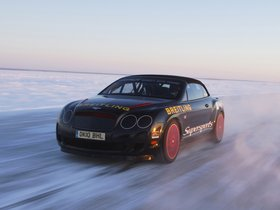 Fotos de Bentley Continental-GT Supersports Convertible Ice Record Car 2011