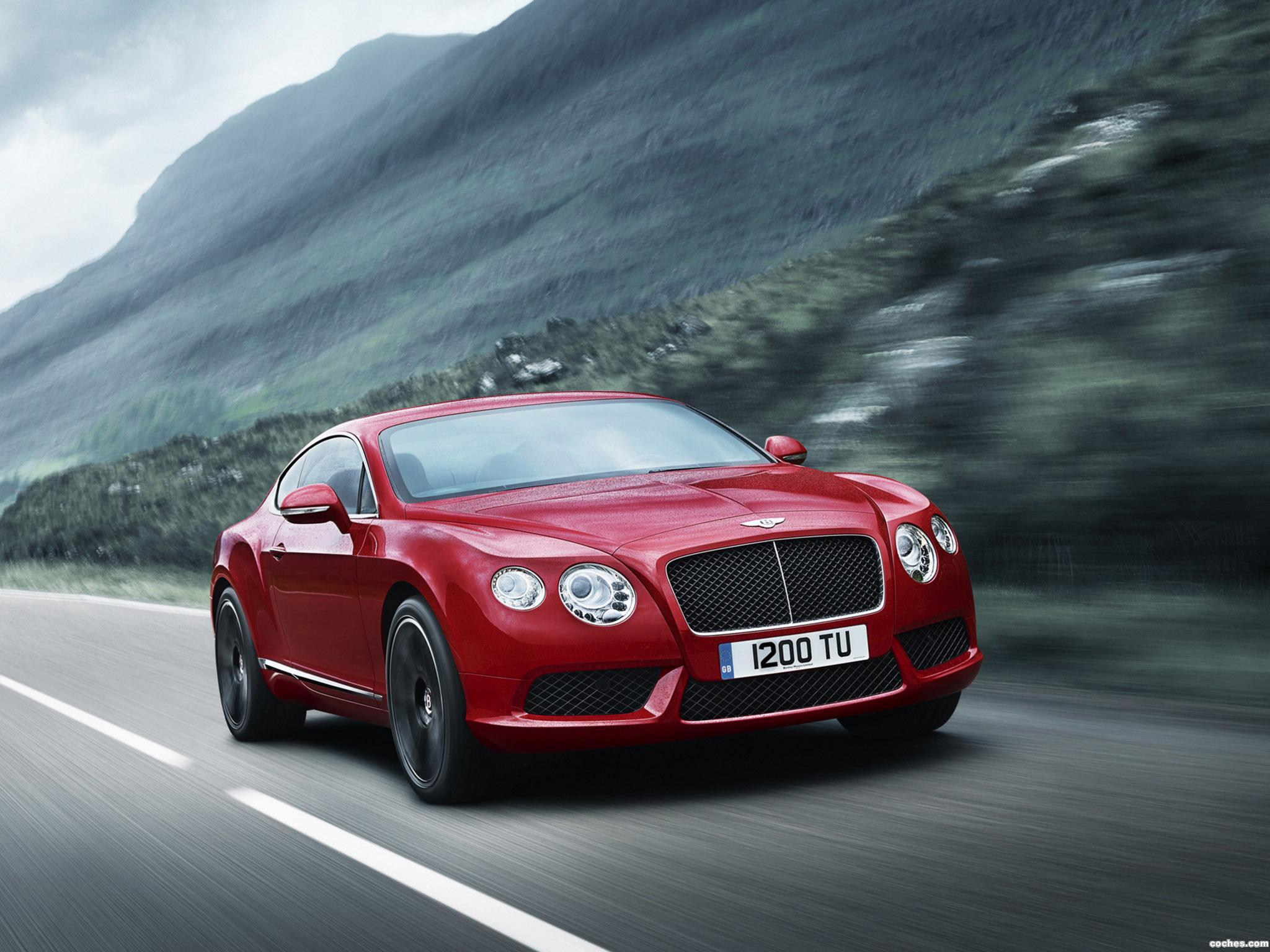 Foto 0 de Bentley Continental GT V8 2012