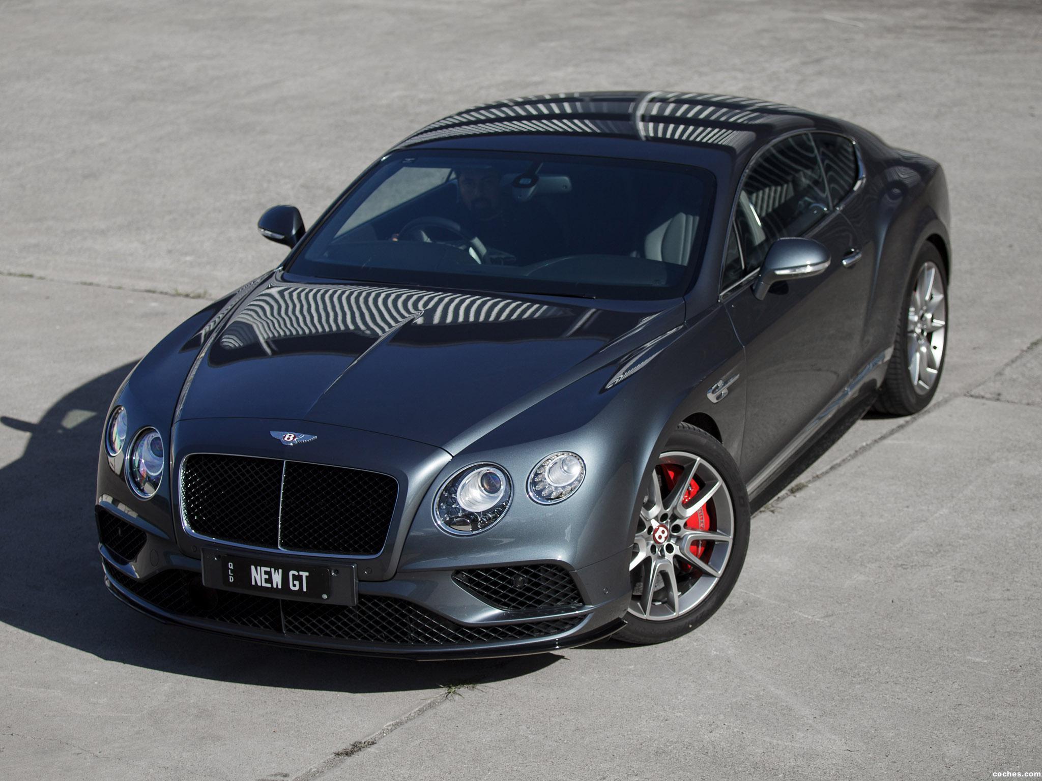 Foto 14 de Bentley Continental GT V8 S Australia 2016