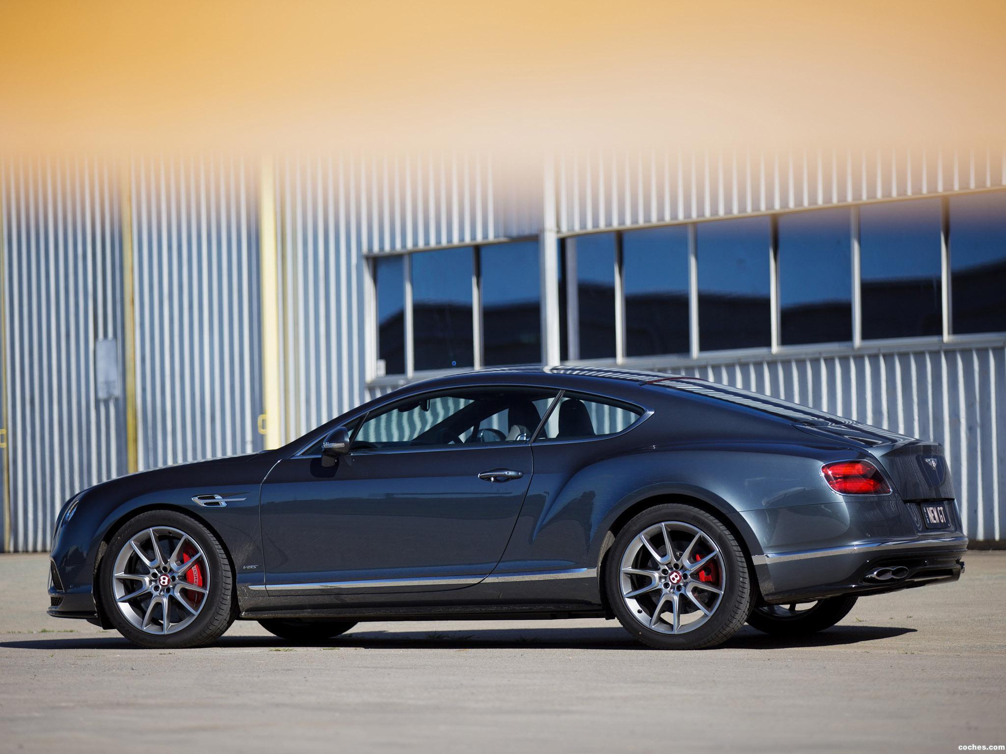 Foto 11 de Bentley Continental GT V8 S Australia 2016