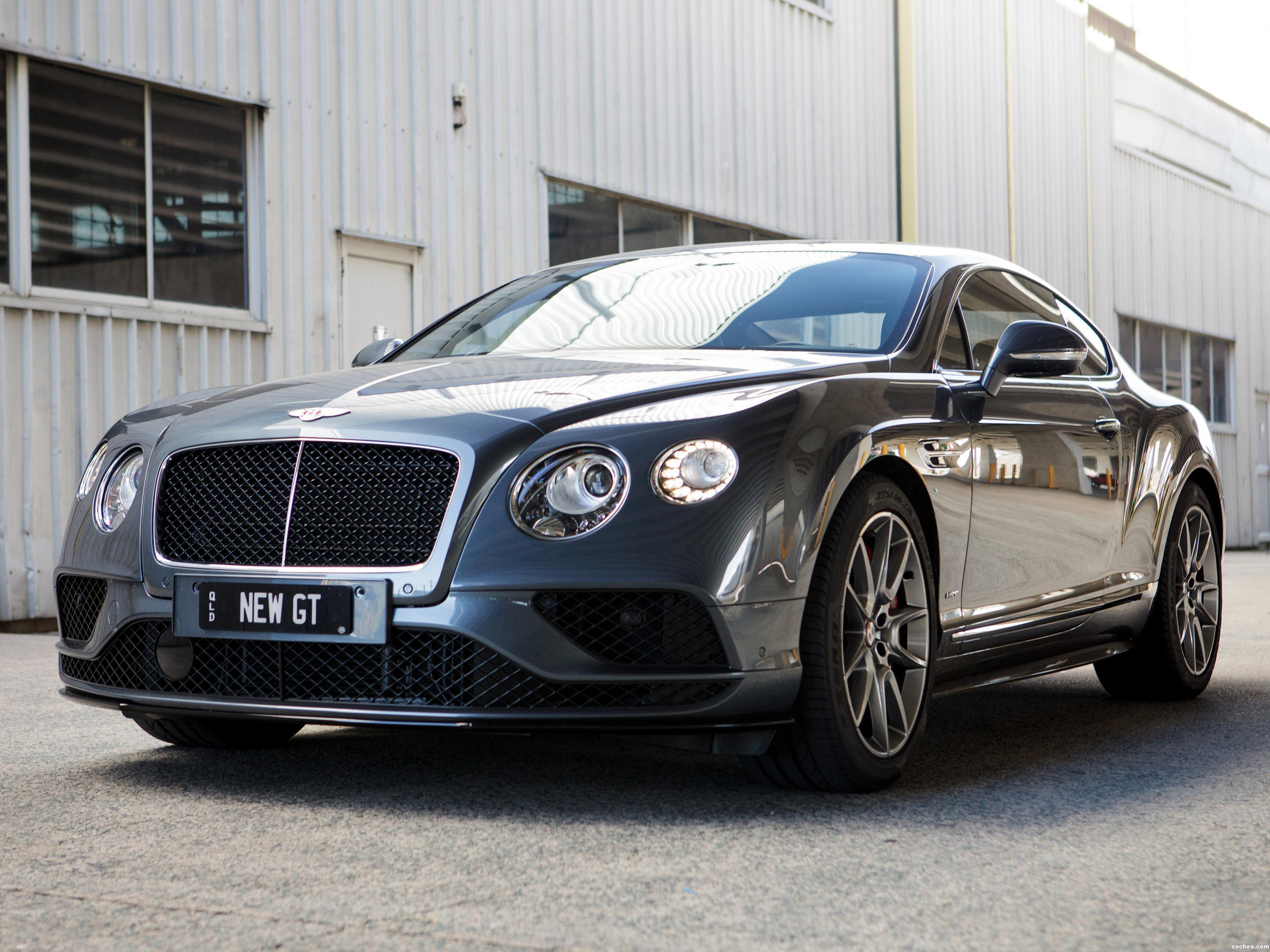 Foto 0 de Bentley Continental GT V8 S Australia 2016