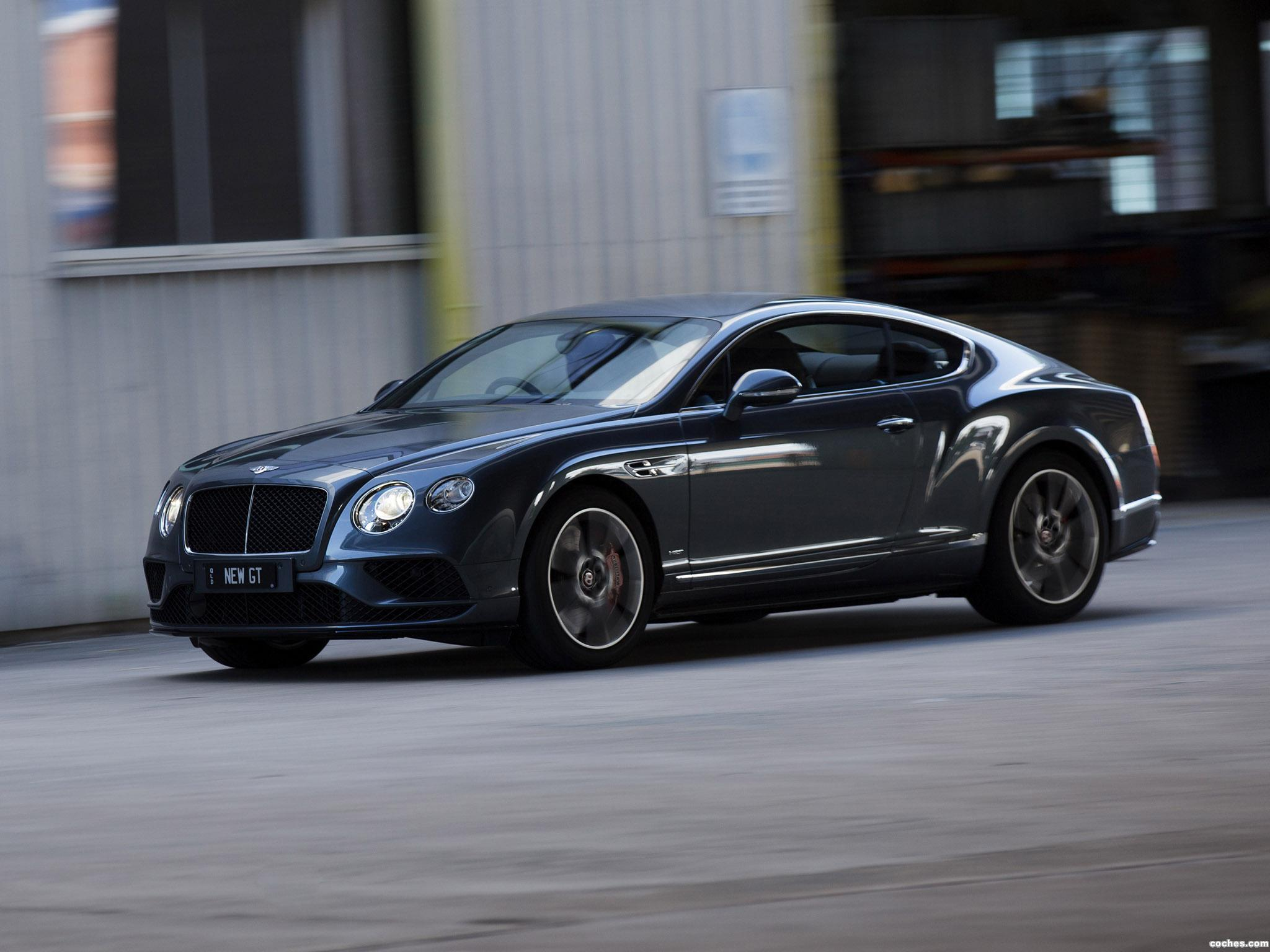Foto 16 de Bentley Continental GT V8 S Australia 2016